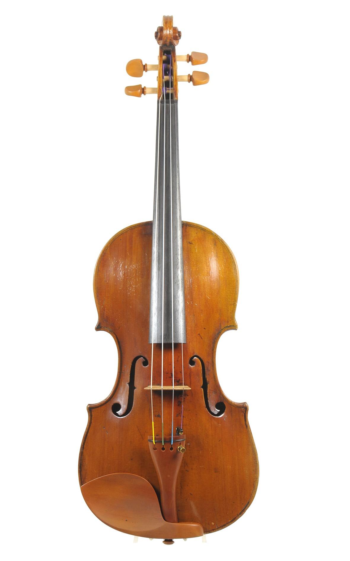 Charles & Samuel Thompson violin, London 1770 - top