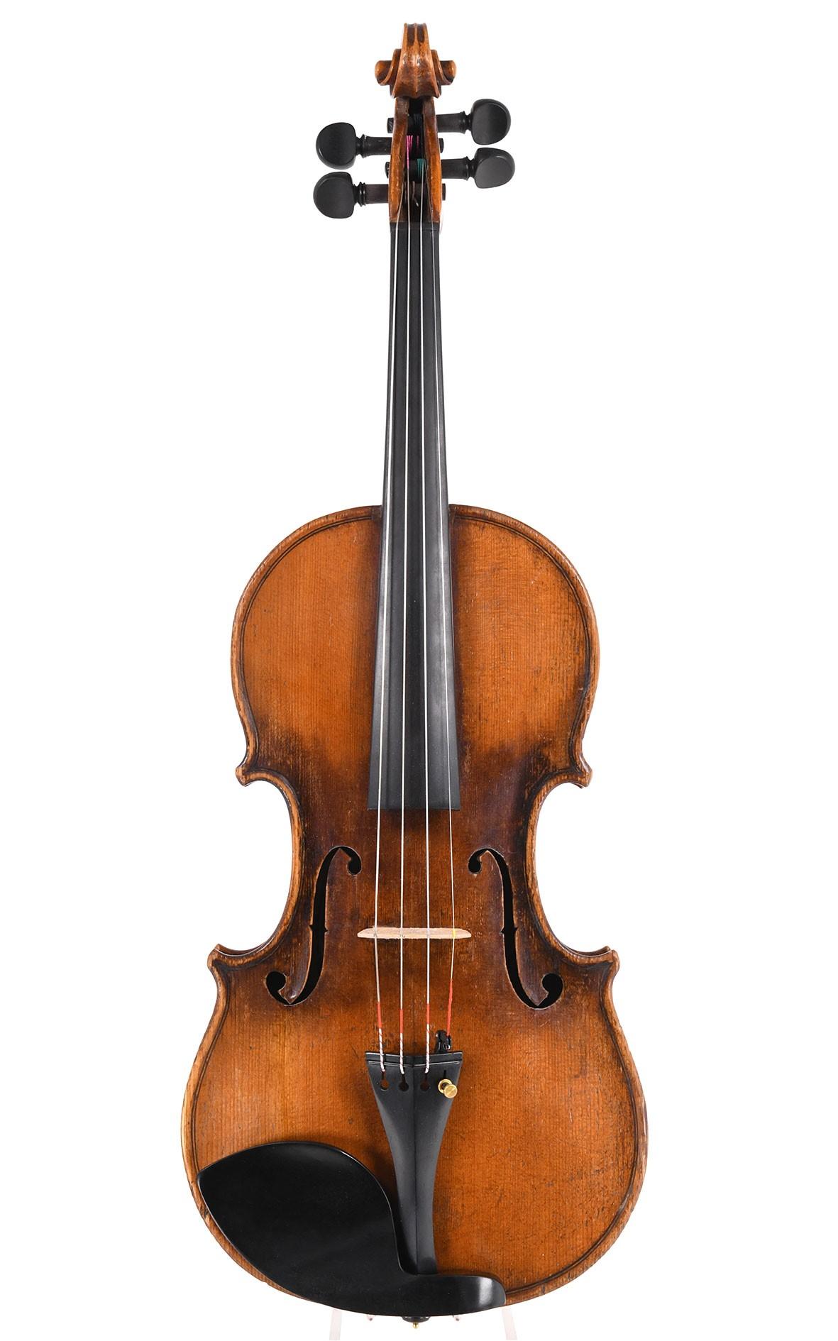 Antike Violine um 1787 aus der Werkstatt von Nicolas Augustin Chappuy in Mirecourt