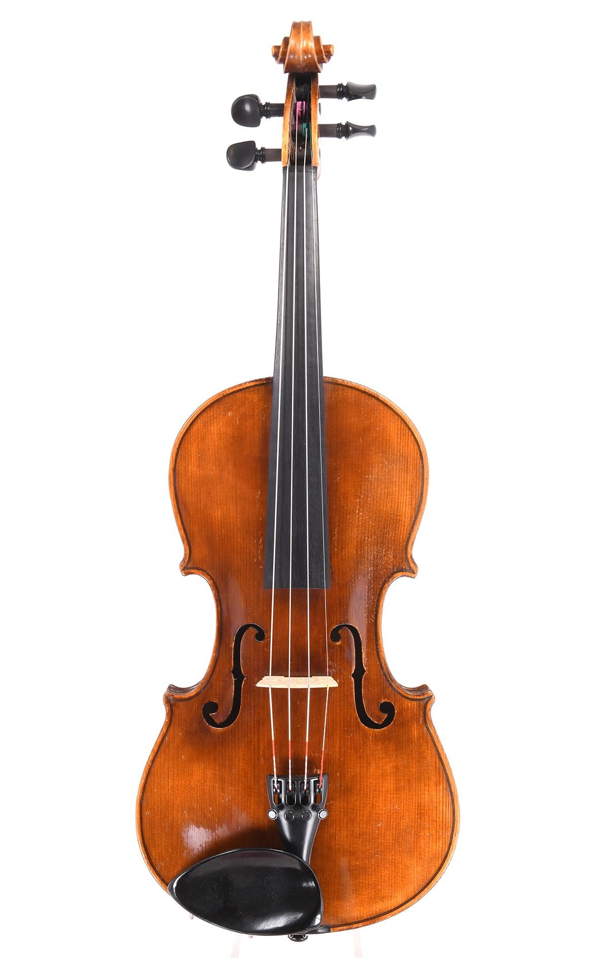 Antique Saxon violin after Stainer, circa 1920