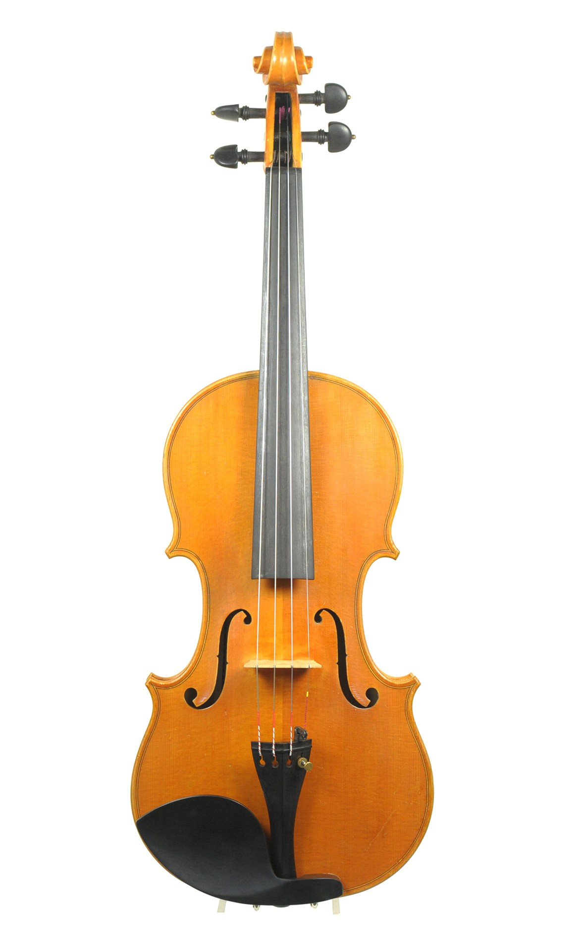 Giovanni Lazzaro, Italian violin - Padova 1990 - front view