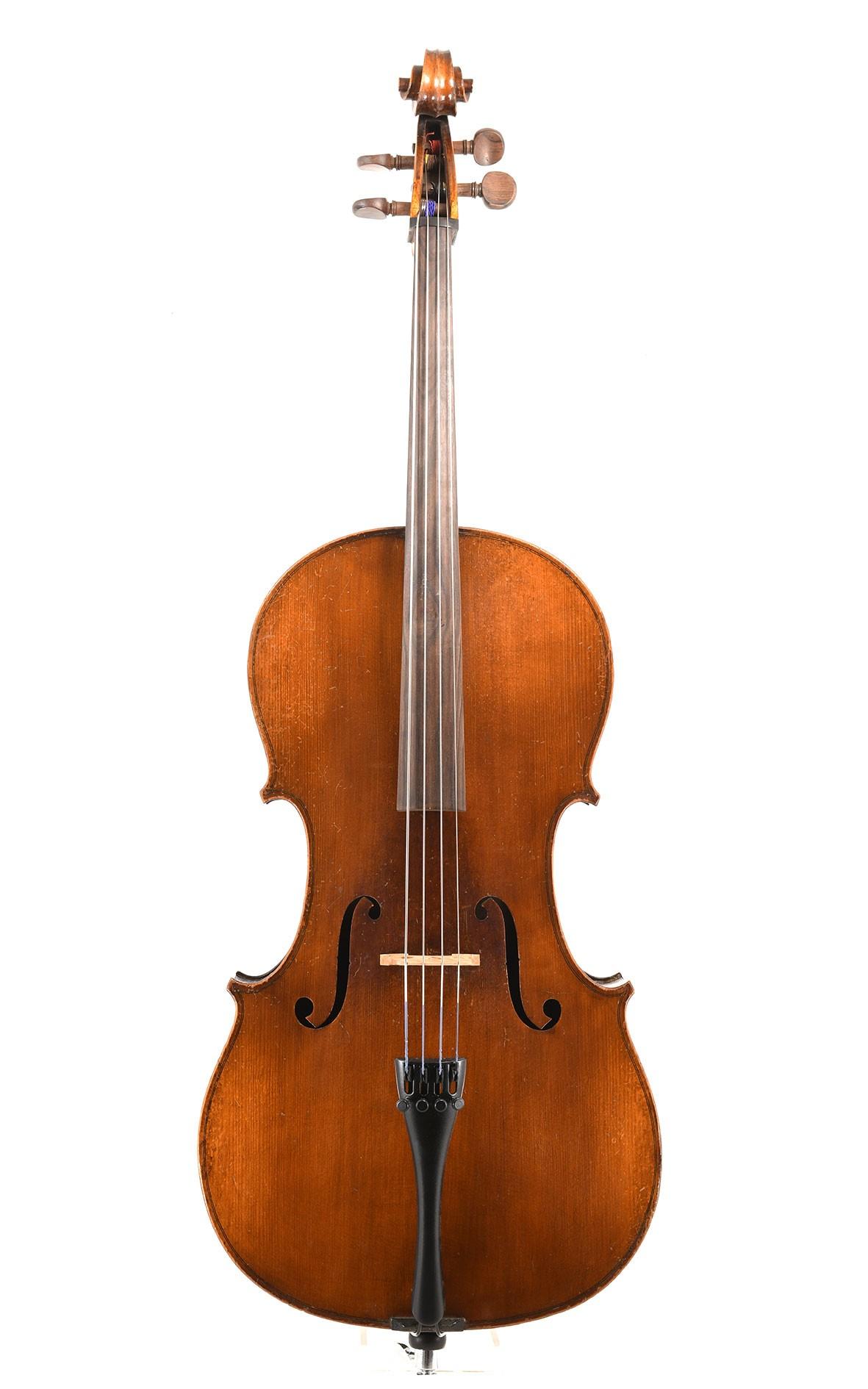 Französisches 1/2 Cello aus Mirecourt