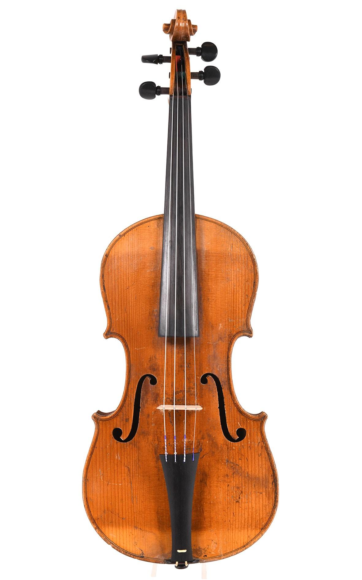 Baroque violin - Markneukirchen, circa 1800