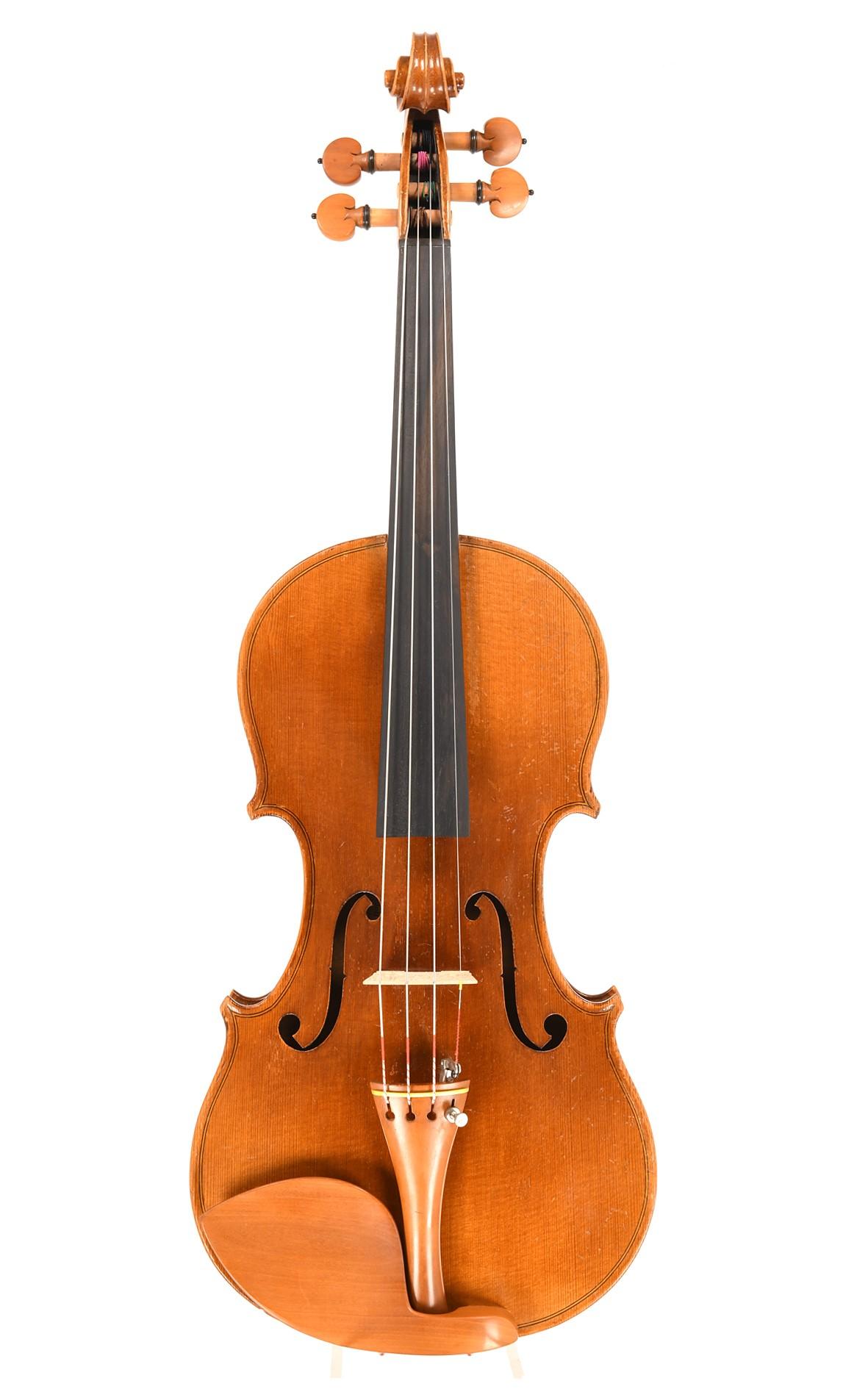 Antique violin by Adolf Sprenger, Stuttgart, 1915