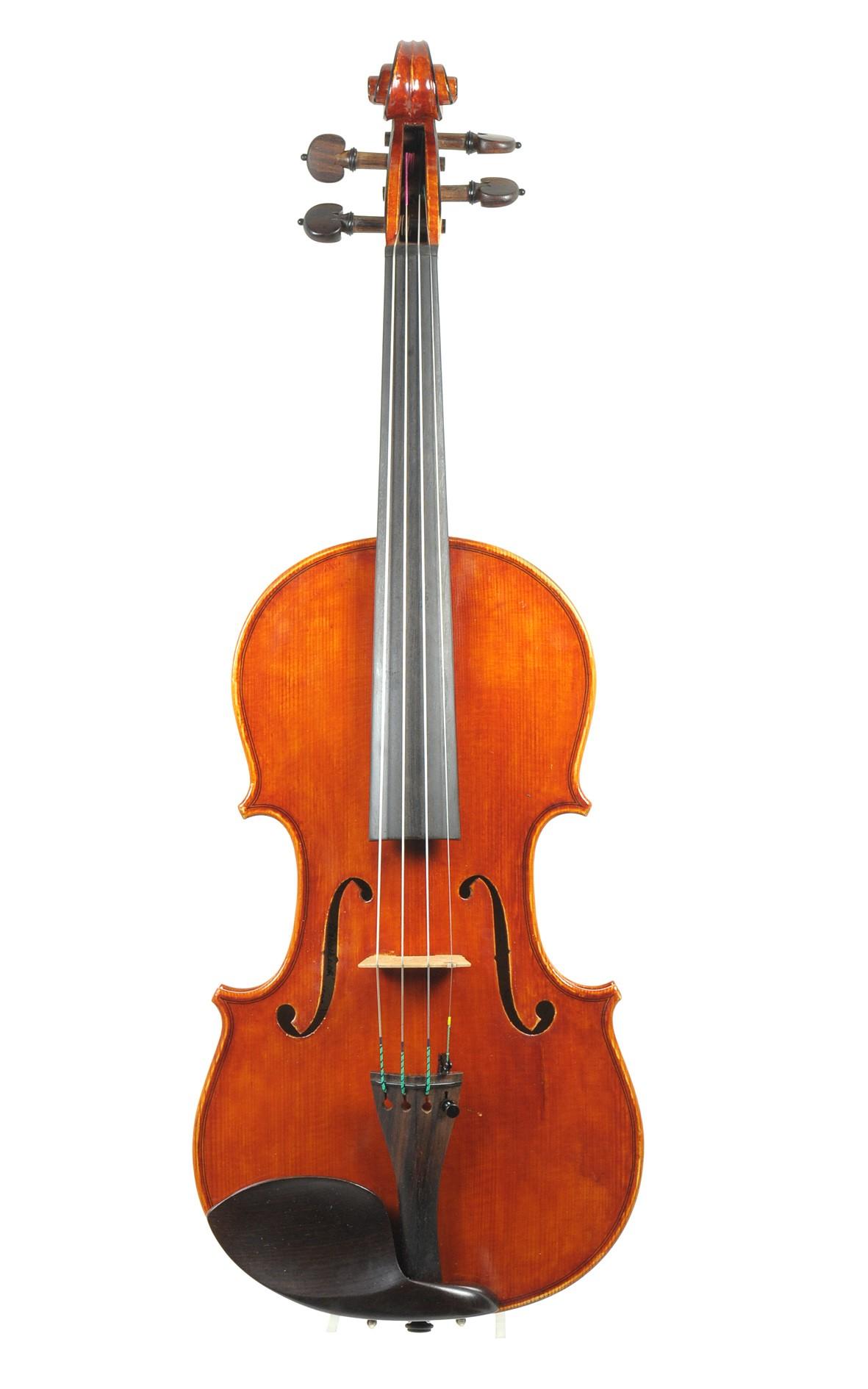 Italian violin Salvatore Valentinetti, 1998 - top