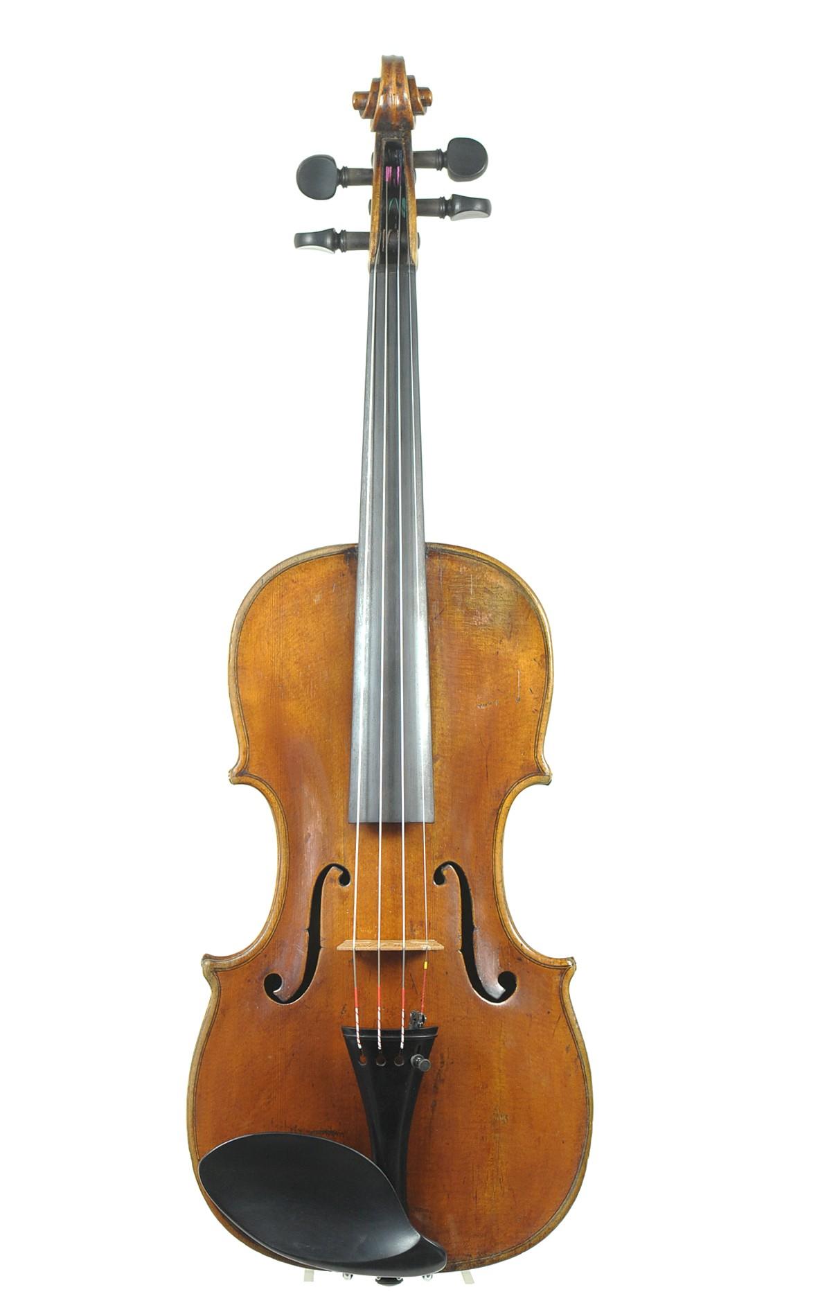 Violin by Christian Friedrich Meinel - table