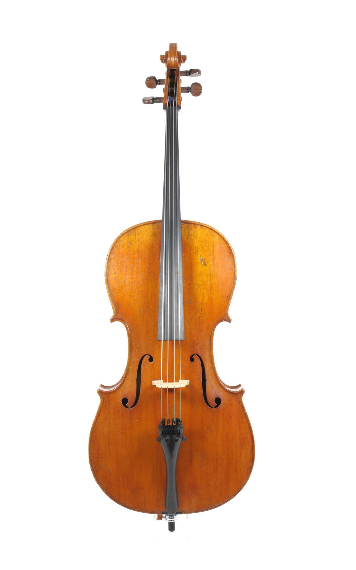 Fine 3/4 cello - top