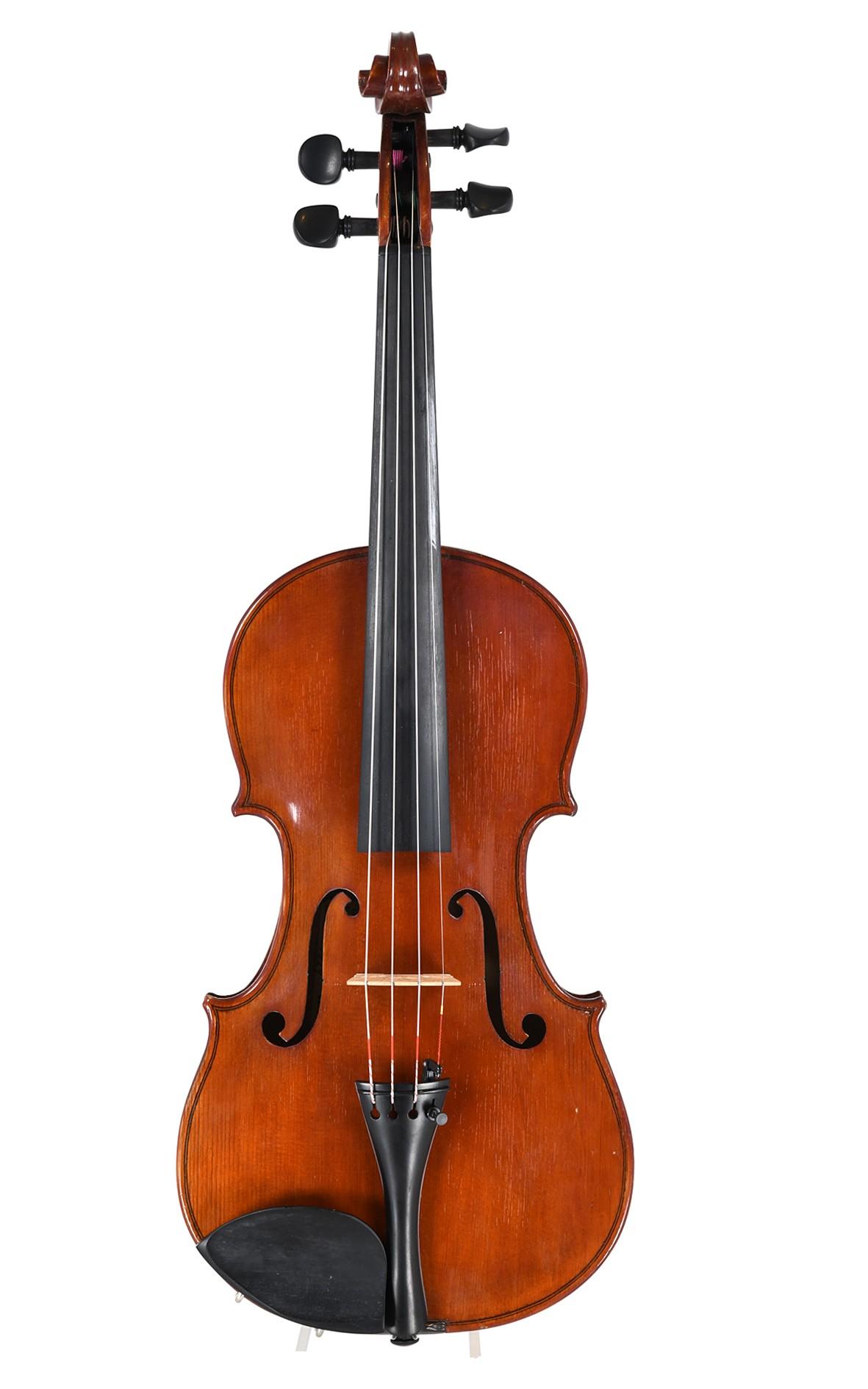 Italienische Geige, Raffaele Calace e figlio 1929