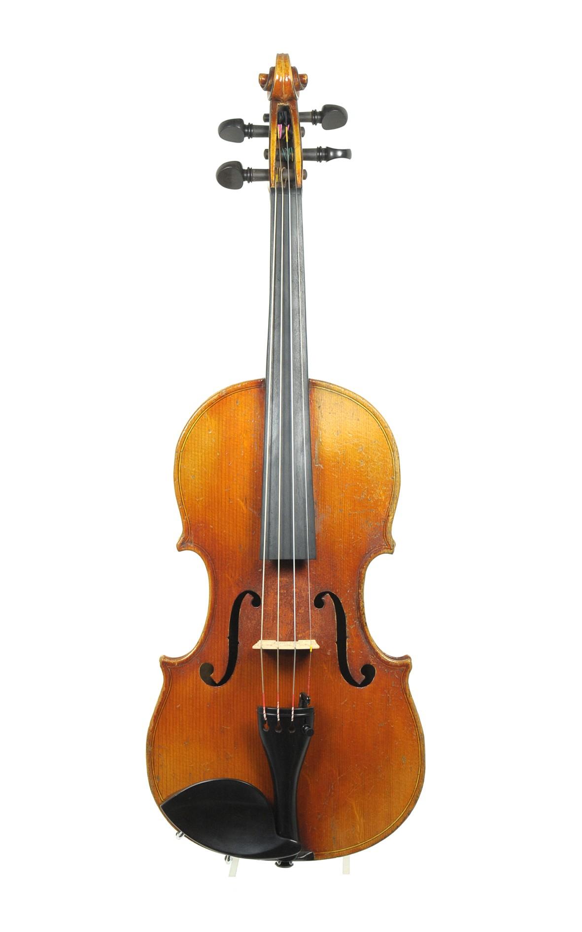 Copie de Antonius Stradivarius Cremonensis - French violin, approx. 1920 - top