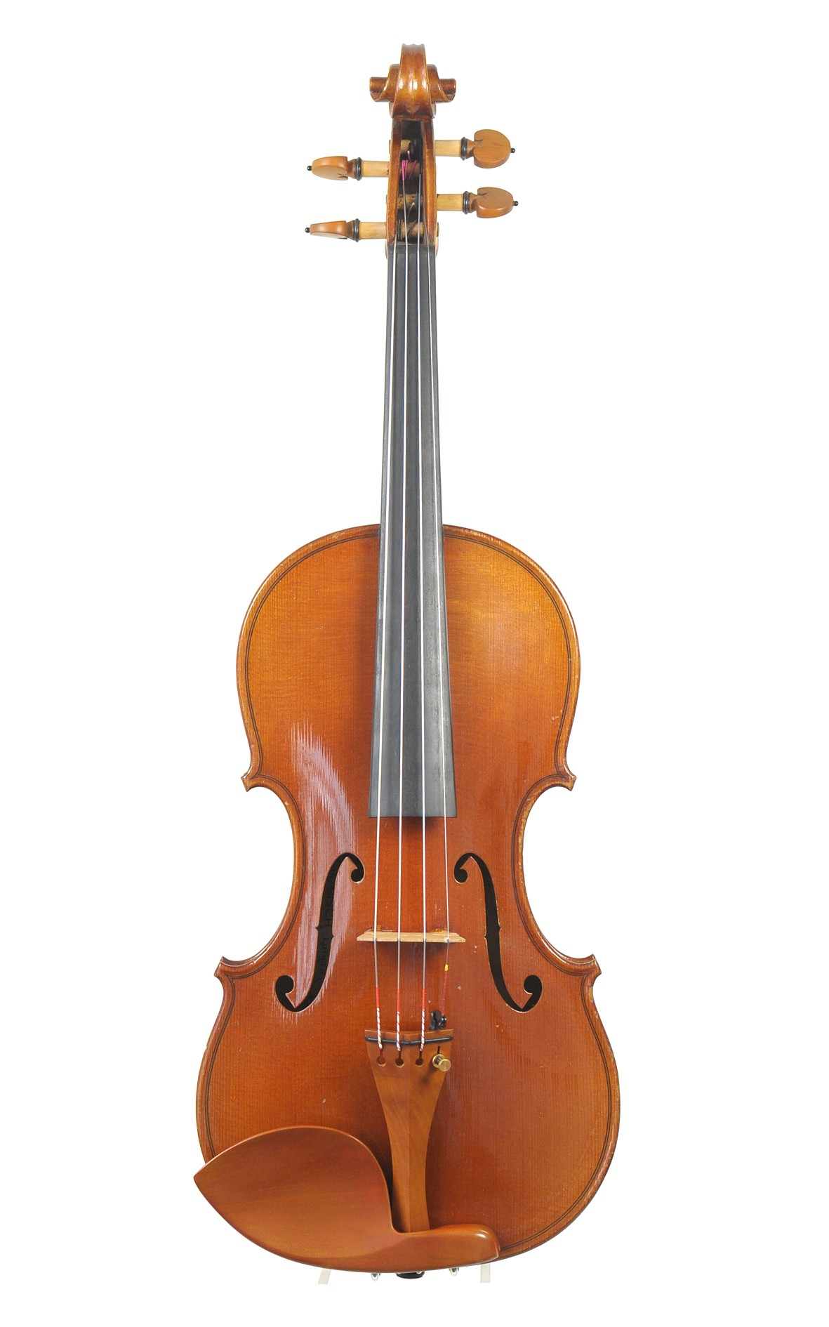 French master violin, Paul Bisch - top