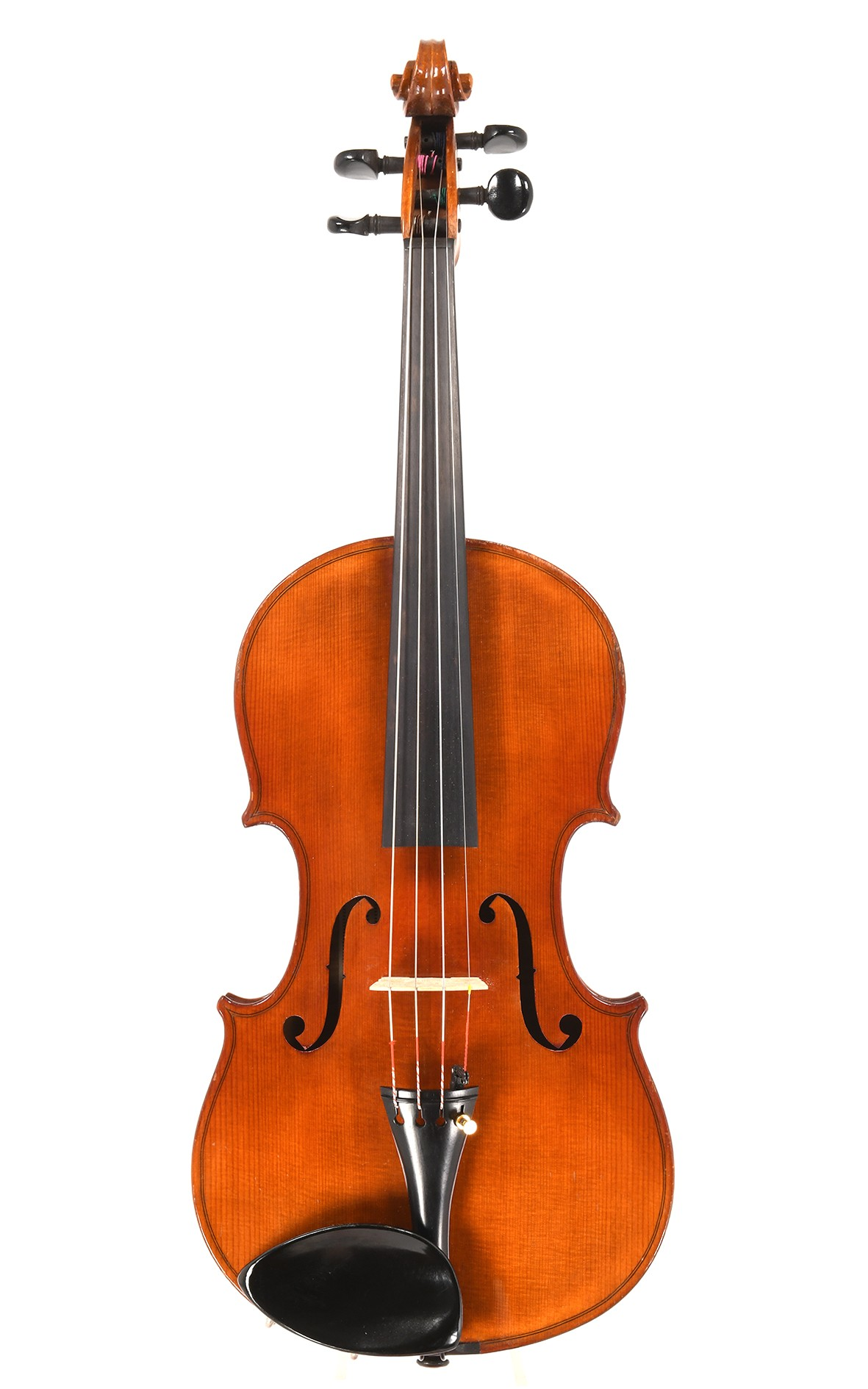 Deutsche Geige mit Etikett Weidmüller Krauss Landhut