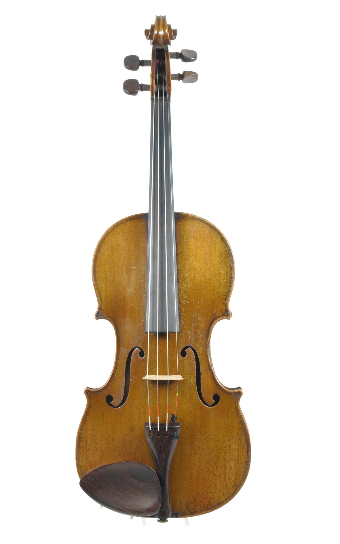 Old French violin, revised and sold by Paul Serdet