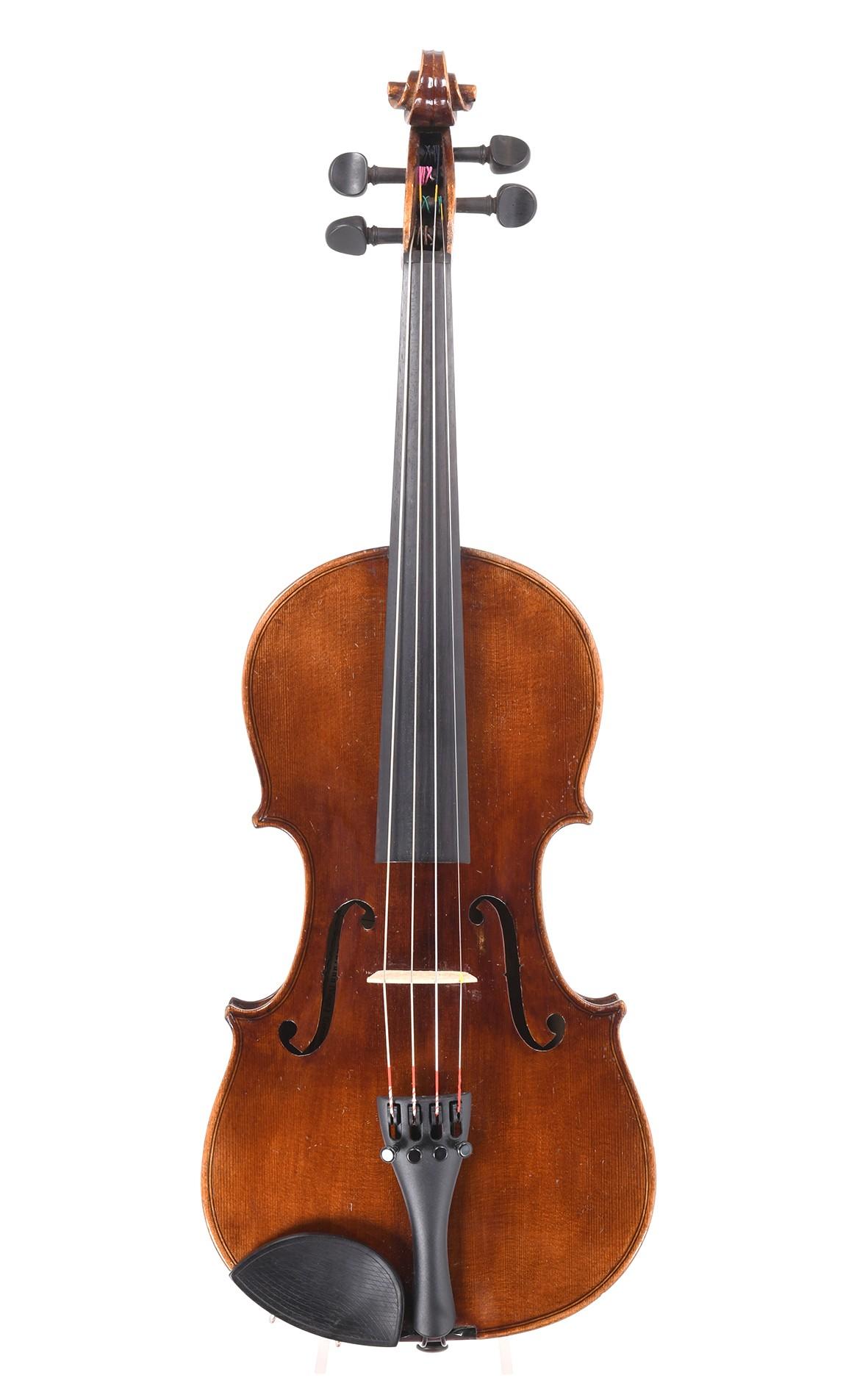 Alte Markneukirchener 3/4 Geige von C. A. Wunderlich, um 1940
