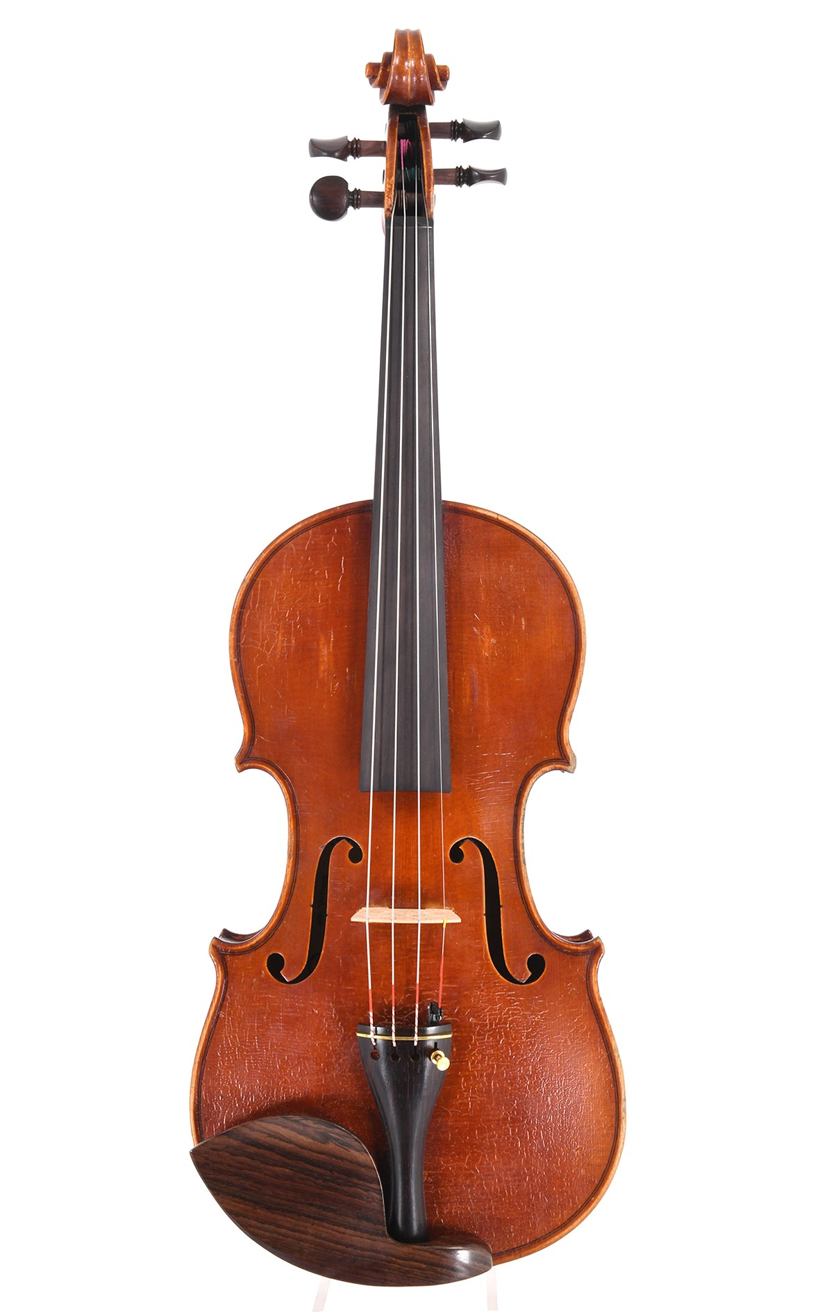 Hungarian master violin from the workshop of Janos Stowasser