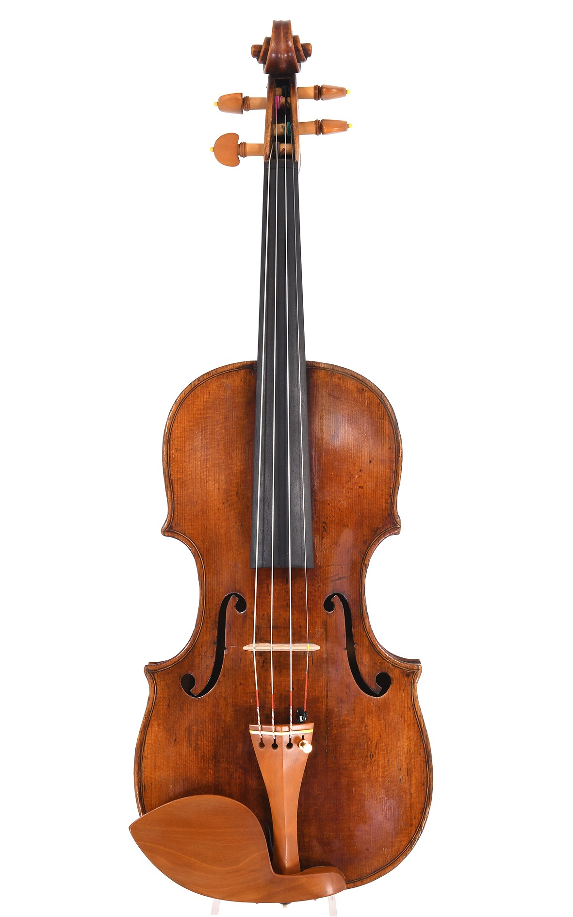 Antique master violin of the Hopf family, made in Klingenthal around 1800