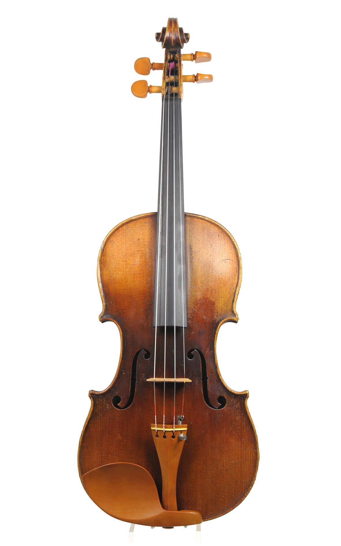 Attractive antique German violin after Stradivarius - mellow, sweet sound
