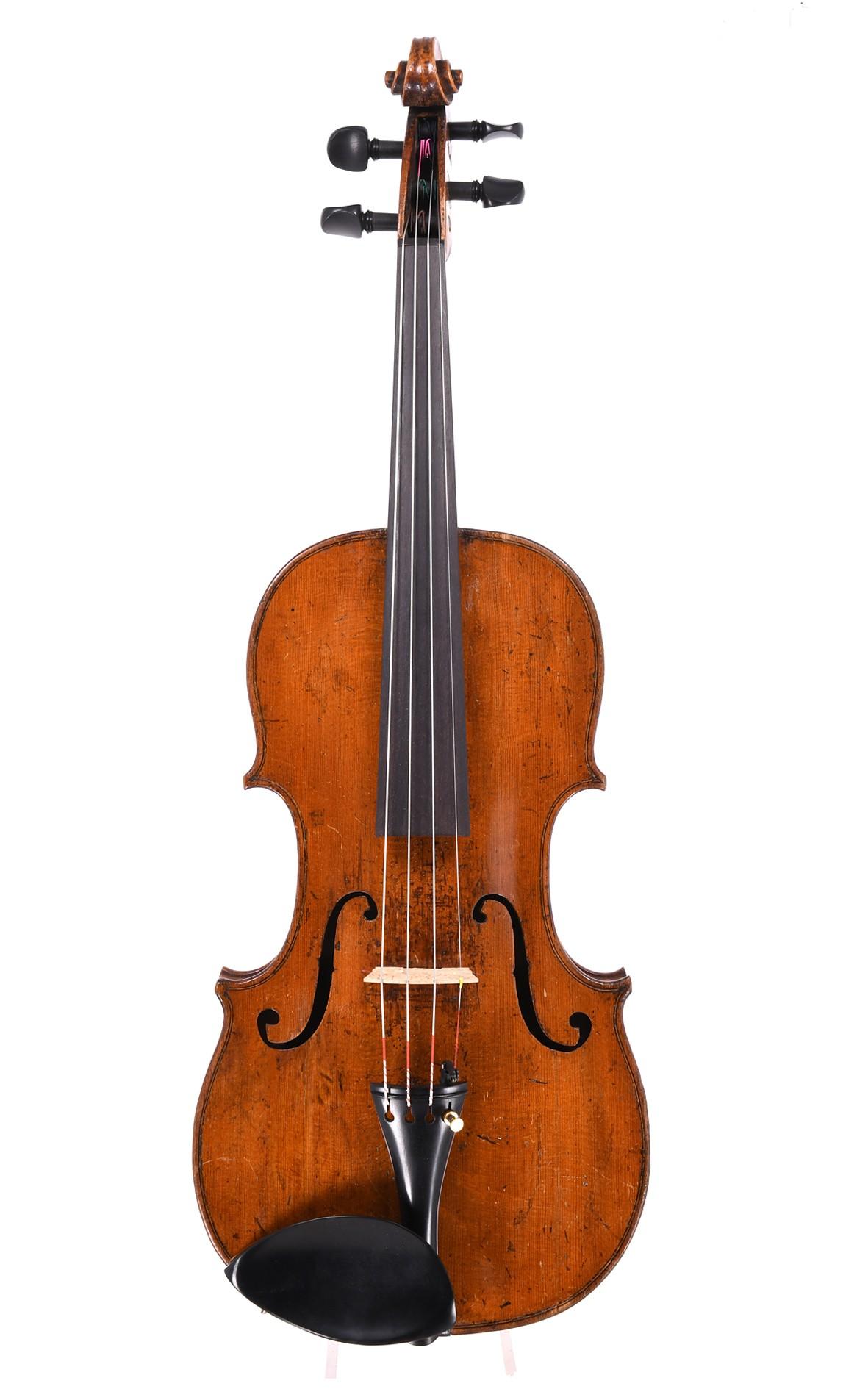 Violine von Johann Christoph Merz junior, Klingenthal 1826