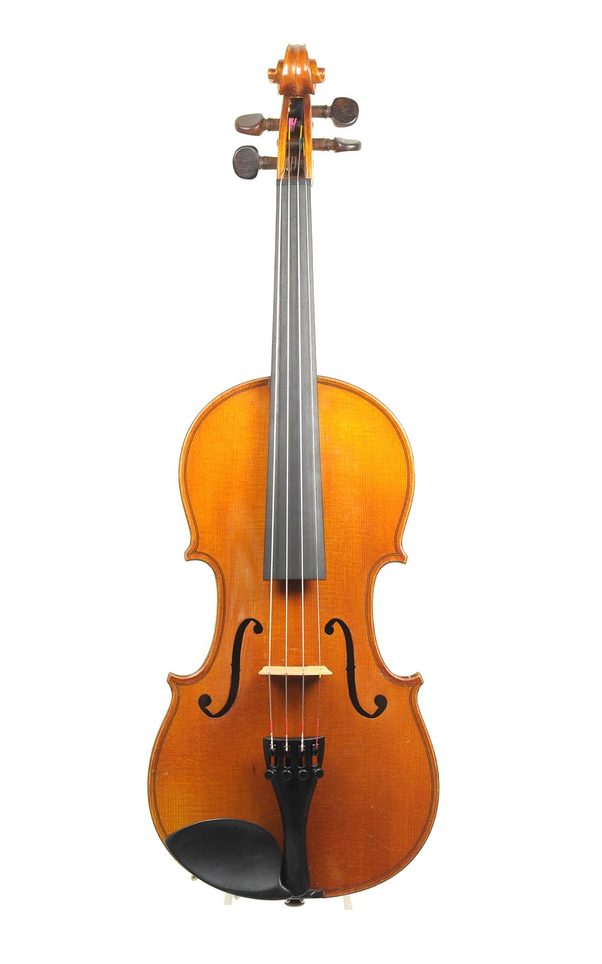 französische 3/4 Geige, Breton. Mirecourt - Decke