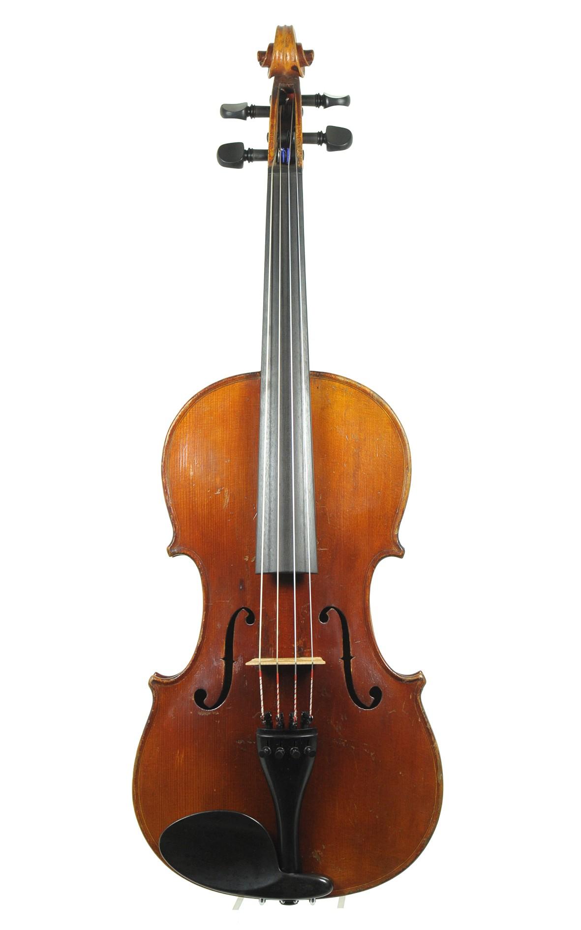 Mittenwald viola, approx. 1870 - top