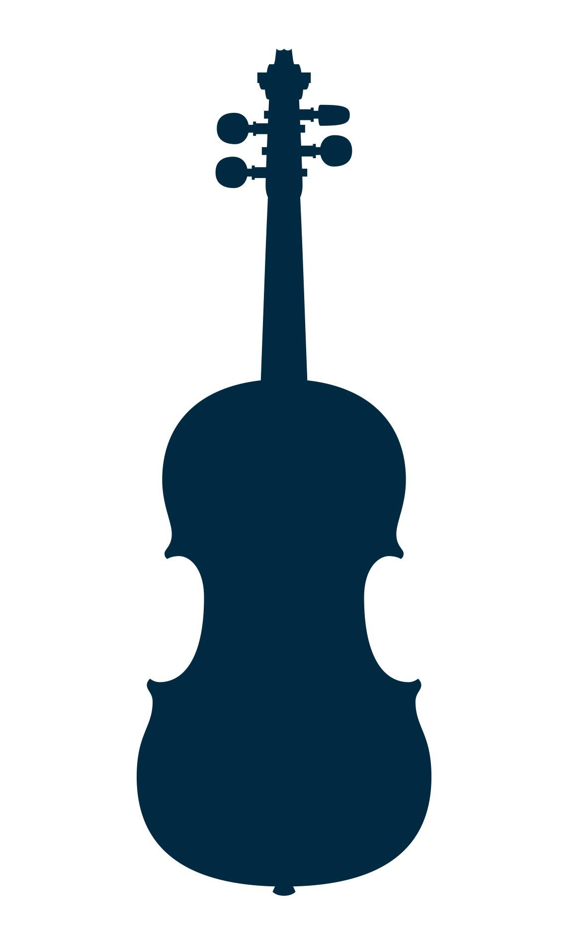 Modern contemporary viola