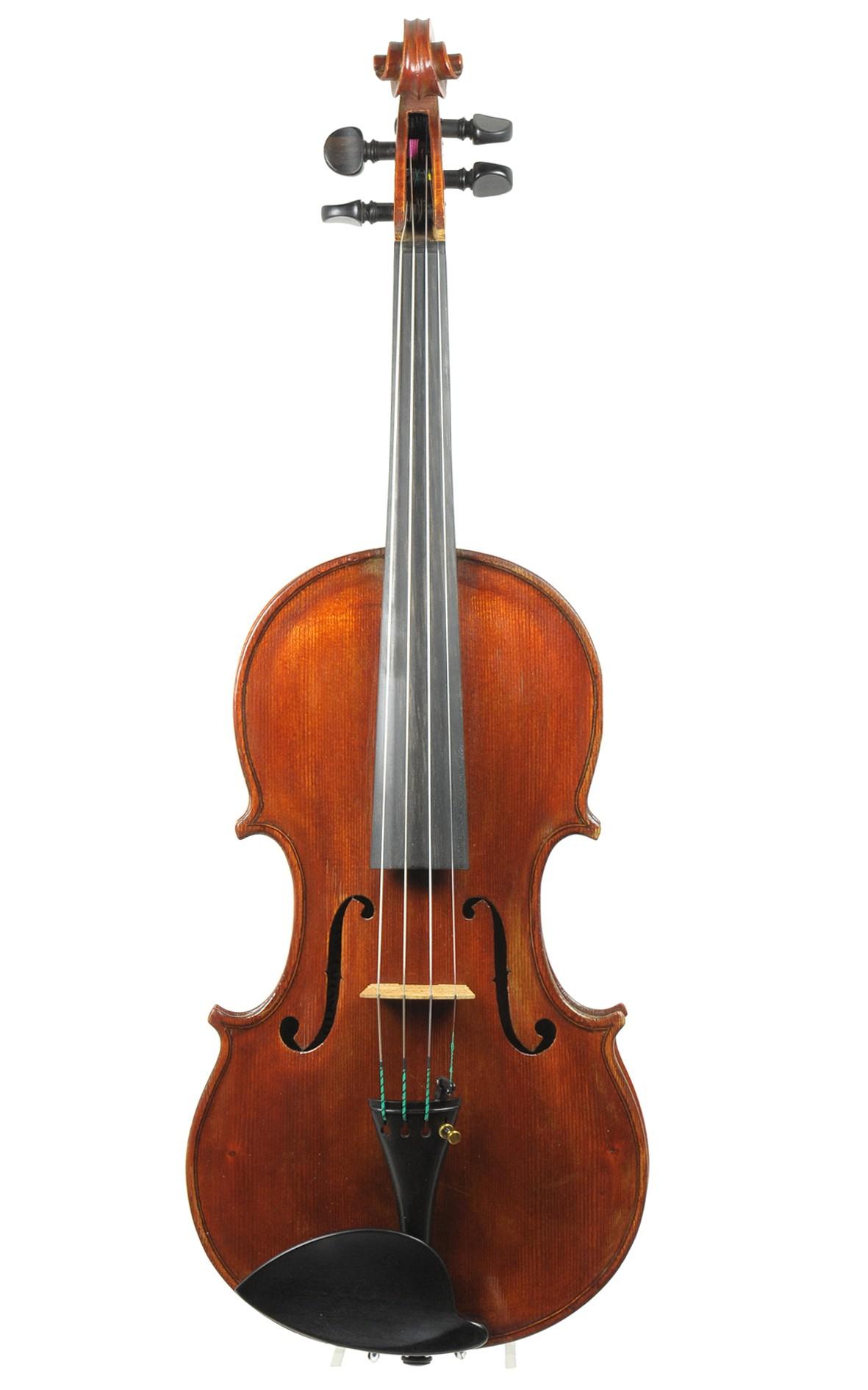 Italienische Violine von Stefano Caponetto - Decke
