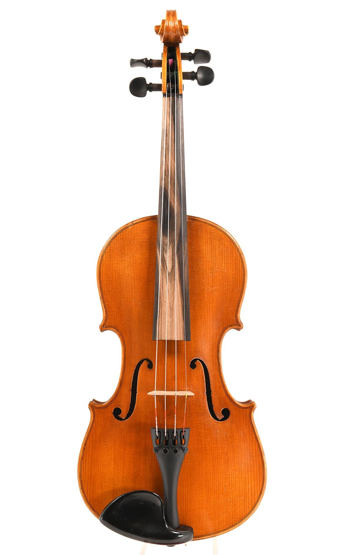 Vieux violon de Saxe / Markneukirchen vers 1930