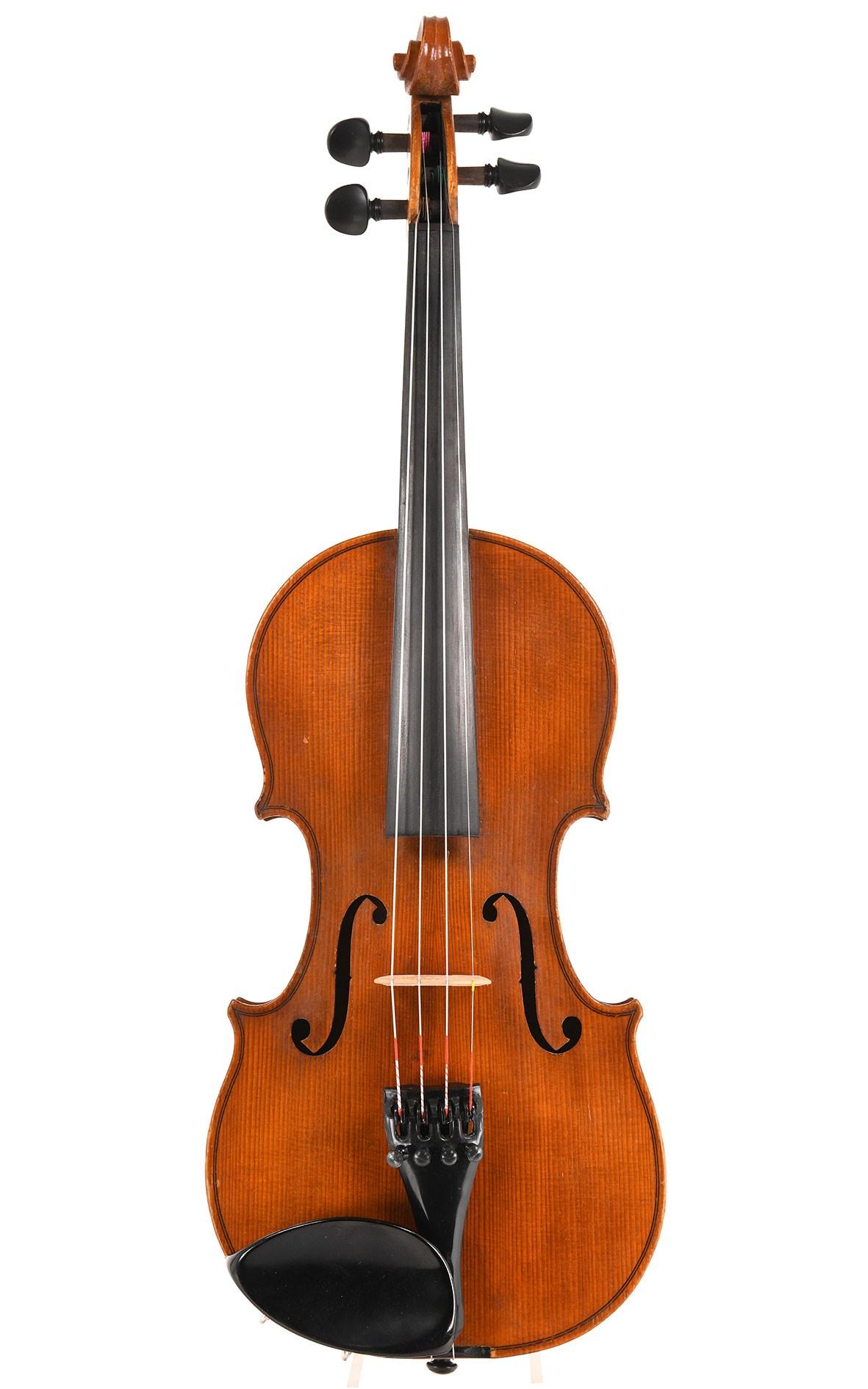 German violin from Saxony Markneukirchen around 1930