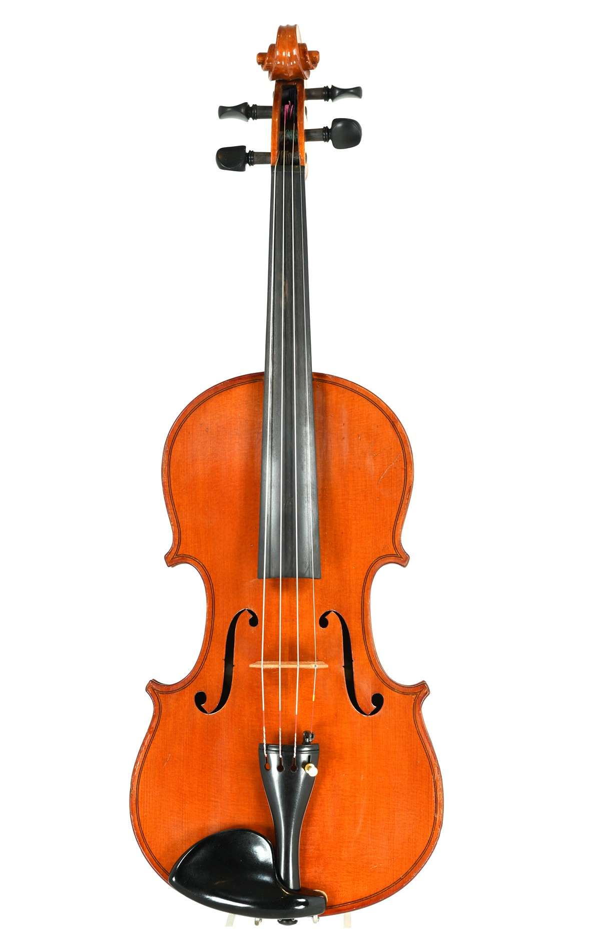 Old violin from Saxony, approx. 1940  - top