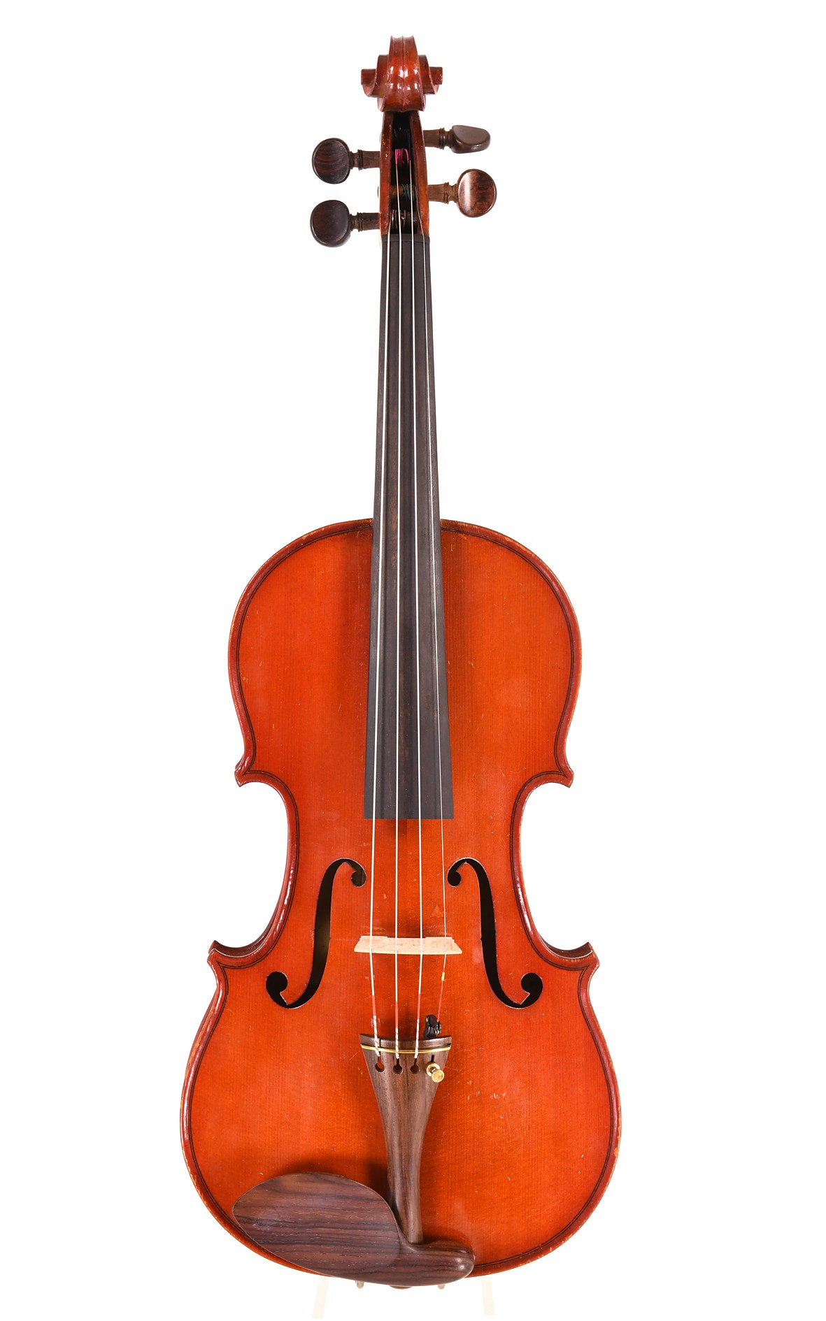 Carel violin by JTL ca. 1900 - top