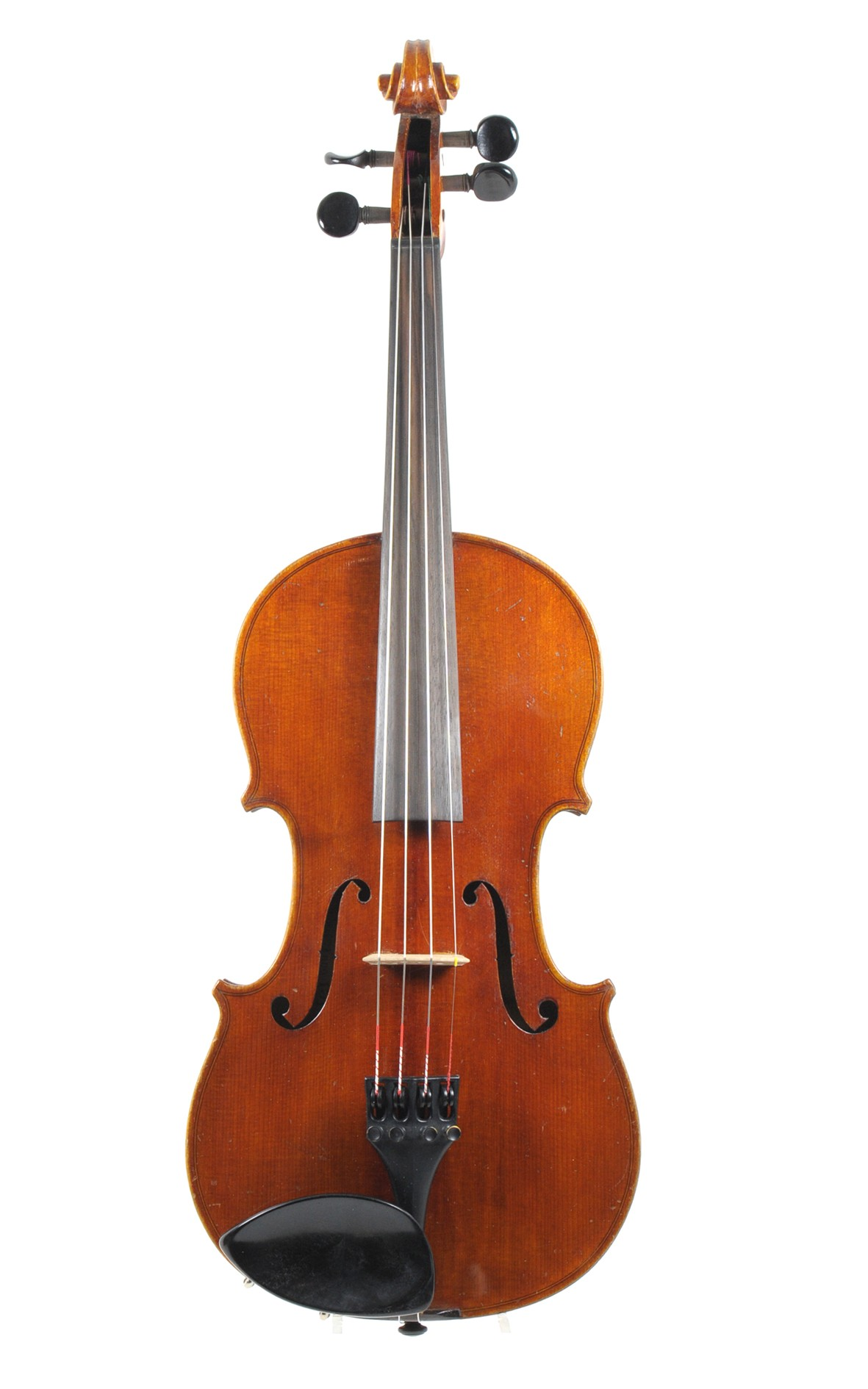 German violin of the 1940s, for orchestral use - top