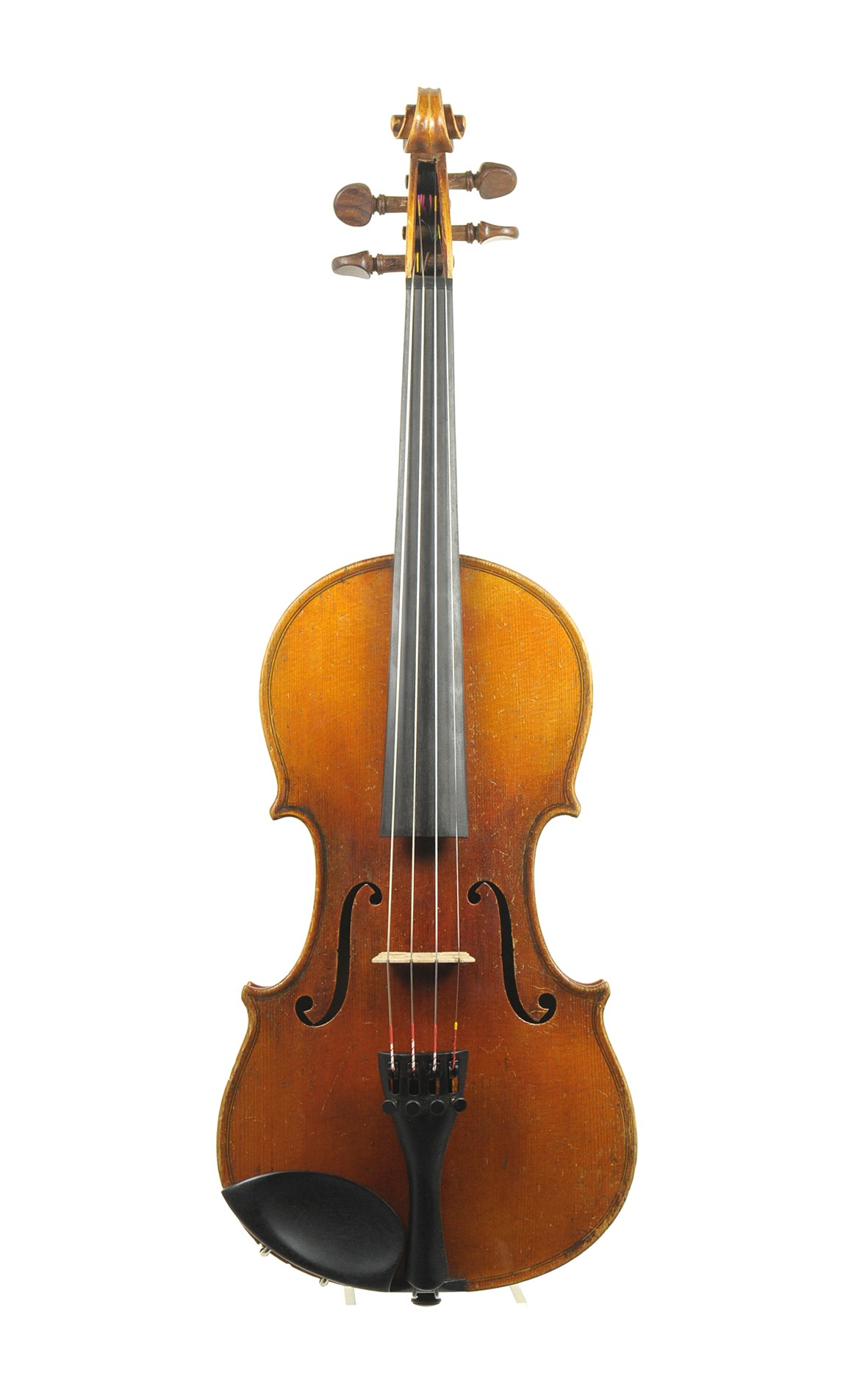 3/4 - powerful old German 3/4 violin, prob. A. C. Glier - top