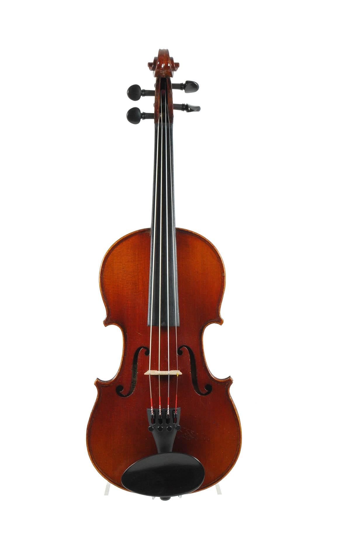 """1/2 - French 1/2 violin, """"Copie de Stradivarius"""" - top"""