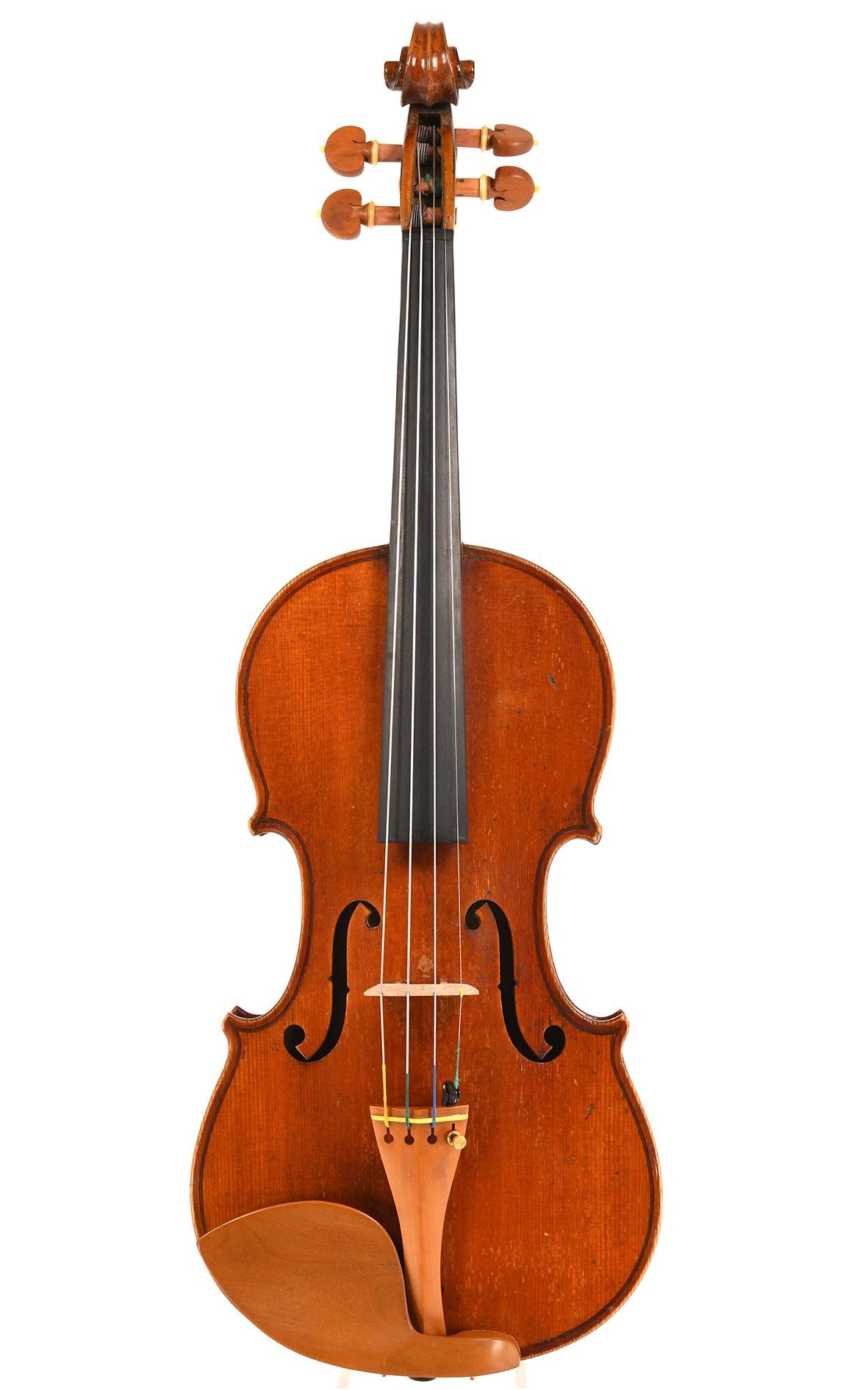 Violon français du 19ème siècle provenant de l'atelier Derazey à Mirecourt