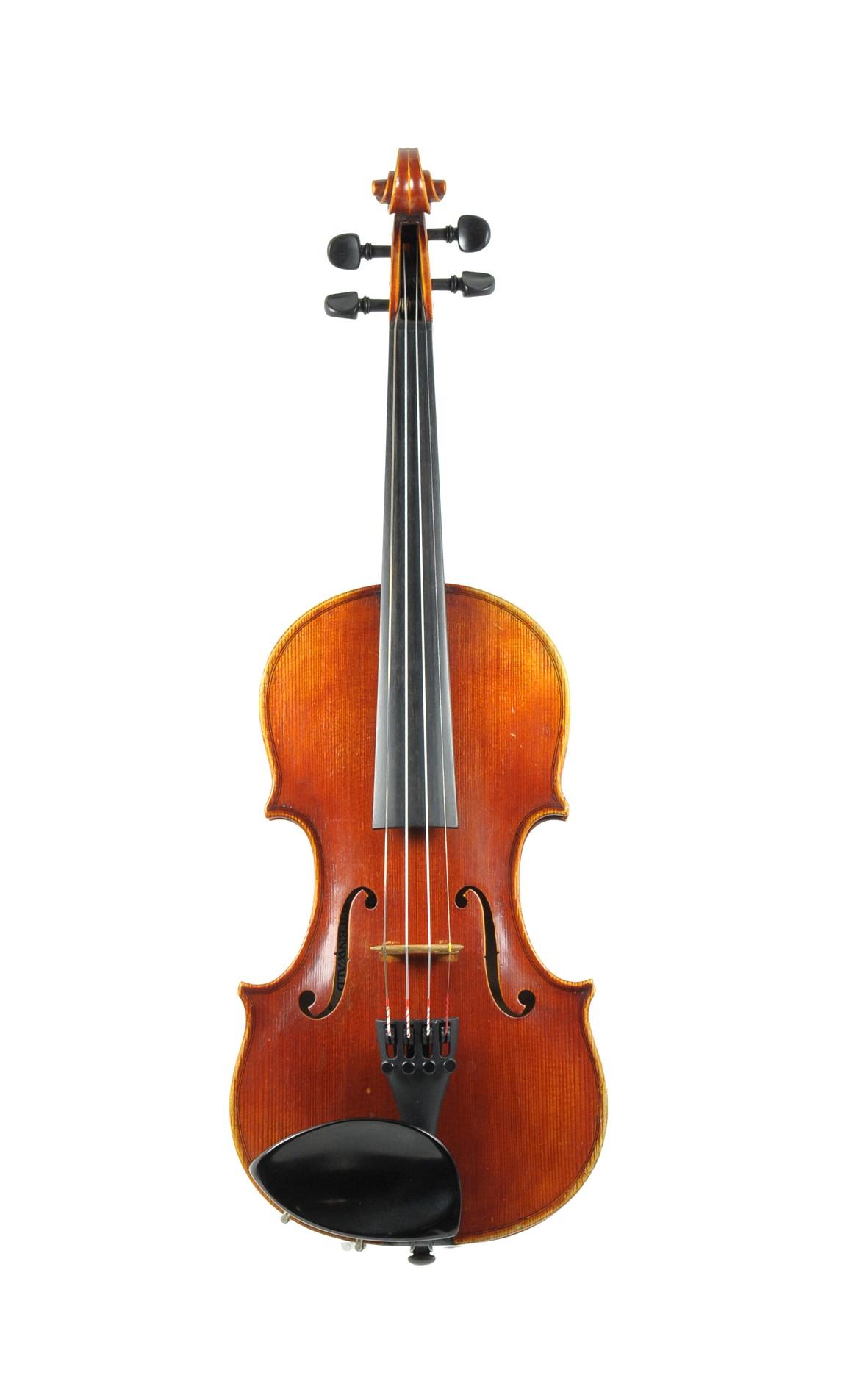 Sebastian Hornsteiner, 1/2 violin, Mittenwald violin making school - top