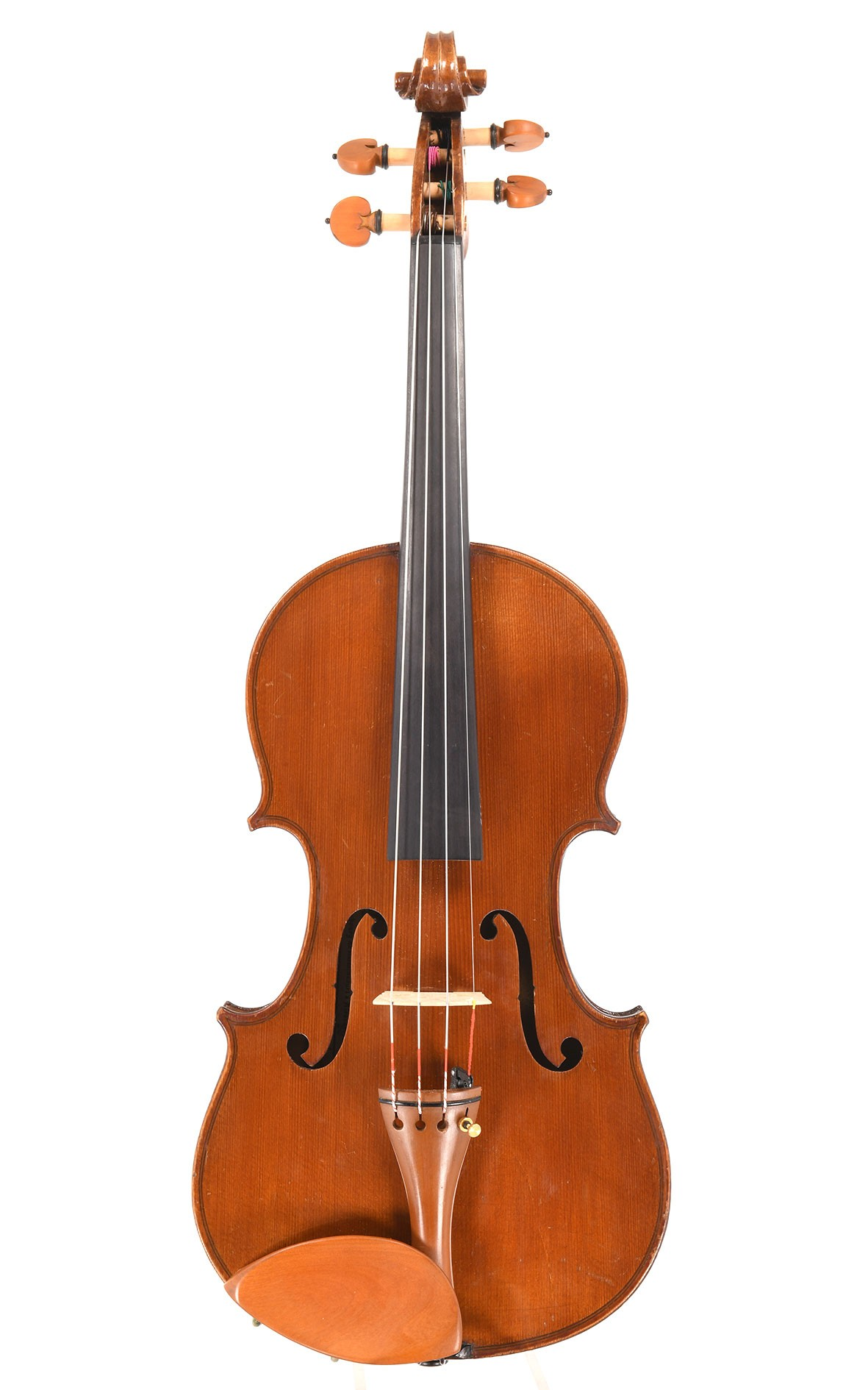 """Lovely antique French violin by Laberte, """"H. Denis"""" Mirecourt"""