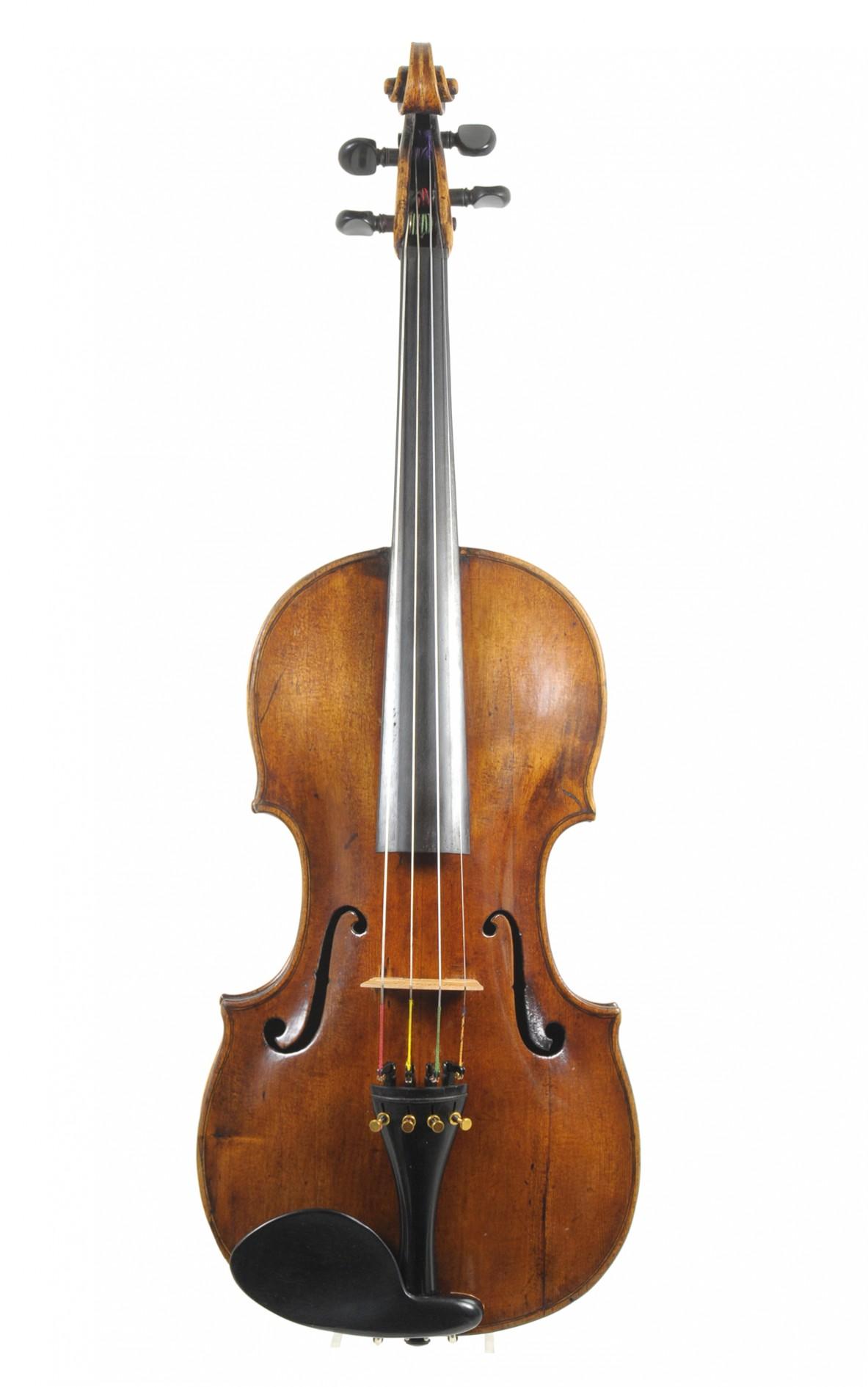 Fine Prague viola, 18th century, prob. Johann Willer