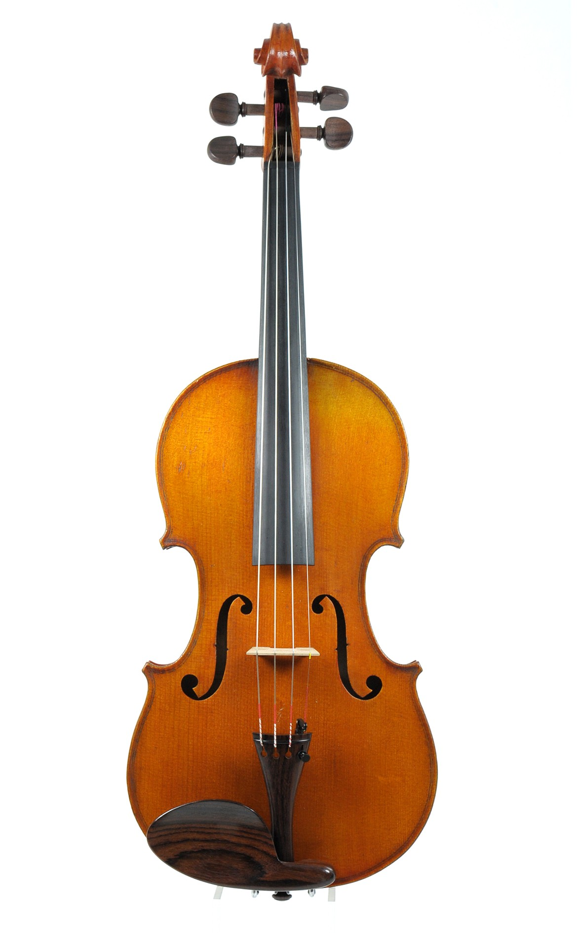 French Phebes violin, Mirecourt ca. 1900 - top