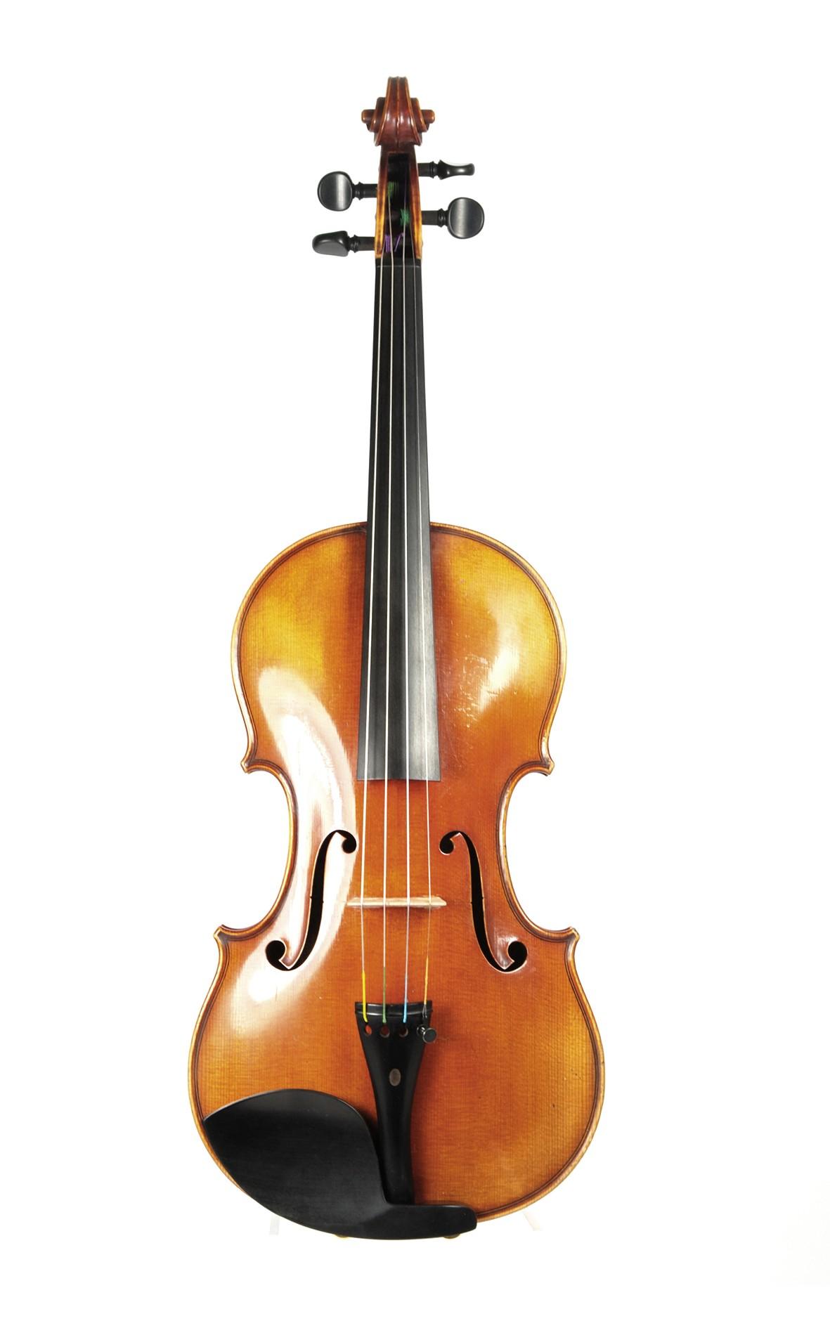 Violin by Eugen Gärtner, Stuttgart  - top