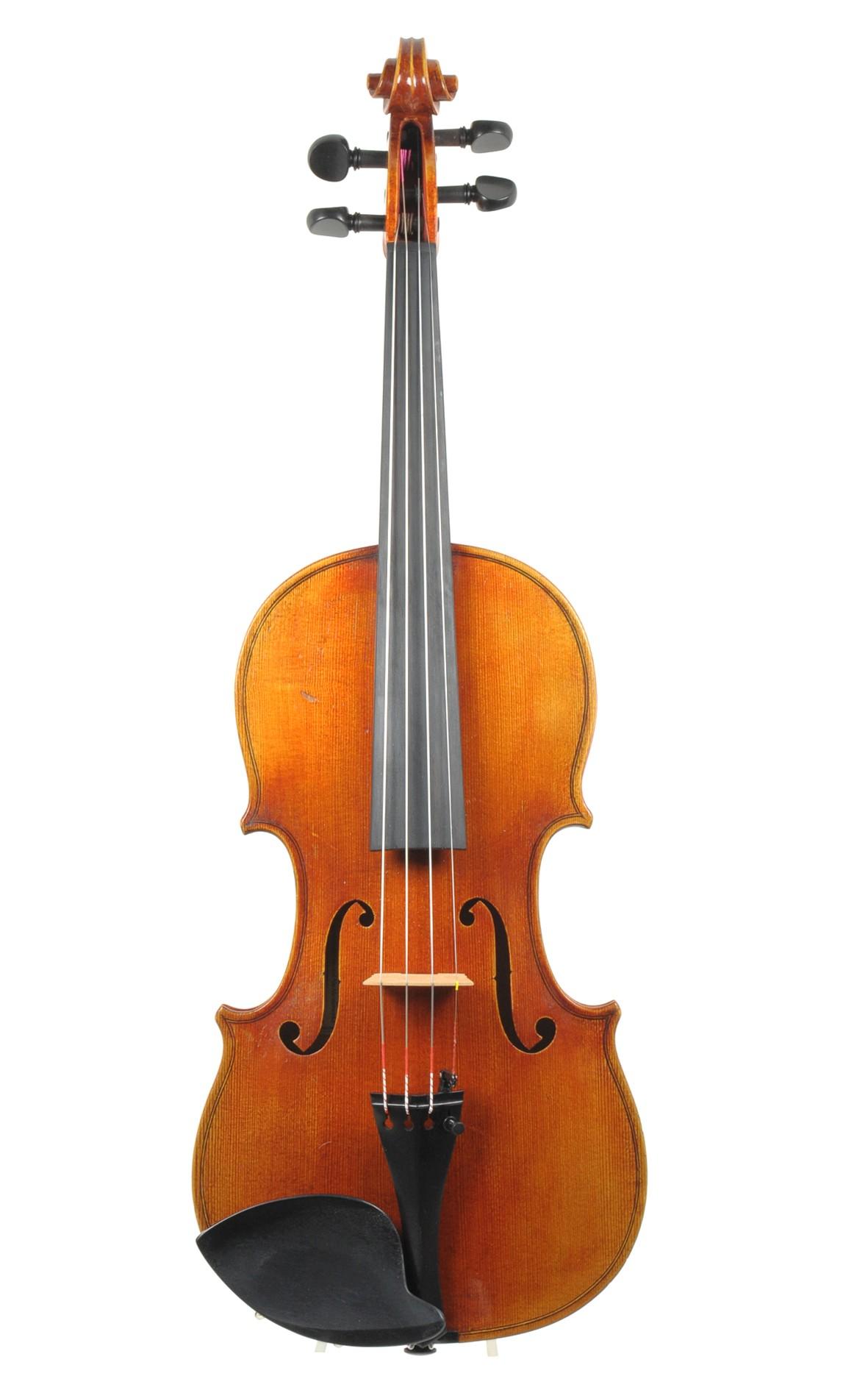 German violin for Hamma & Co. - top