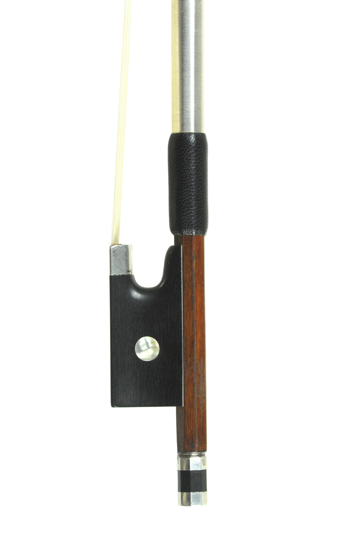 Outstanding Markneukirchen violin bow, approx. 1910 - frog