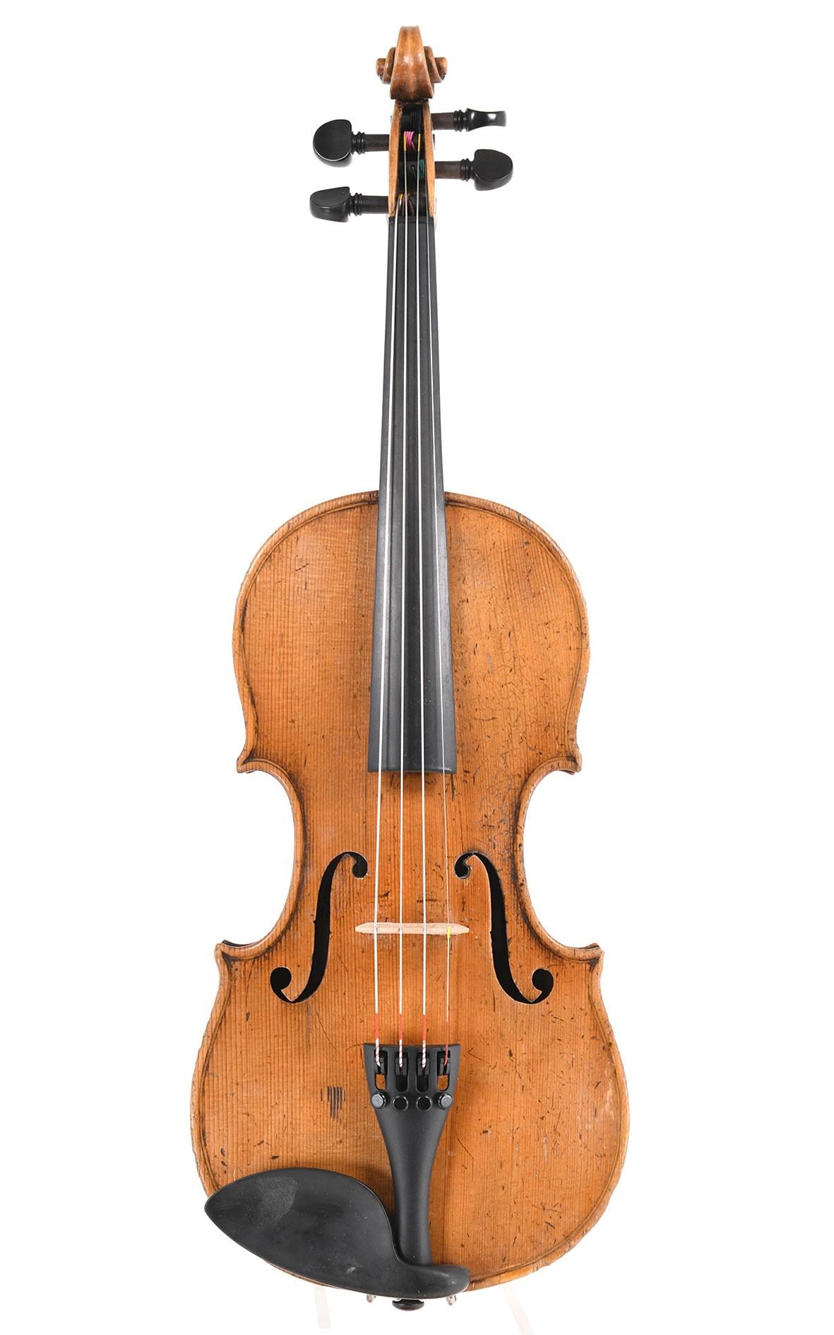 Antike deutsche 1/2 Geige aus Markneukirchen