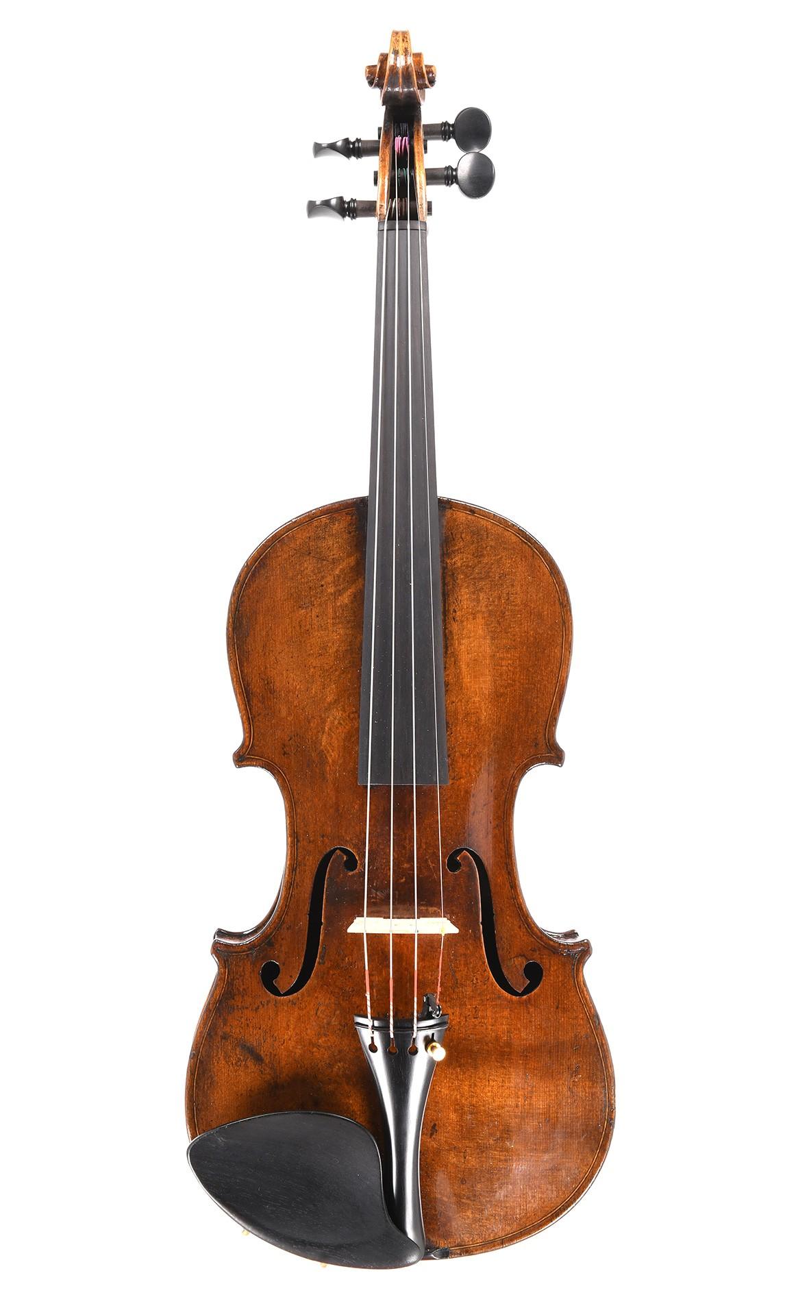 Antike Sächsische Geige um 1870, klassische sächsische Tradition