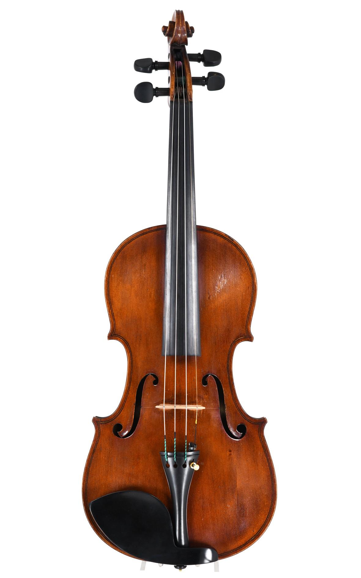 Raffaele Calace, Italian violin 1916 (certificate by Eric Blot)