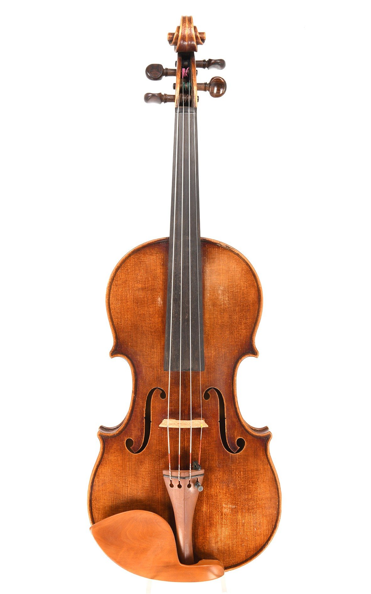 Attractive and outstanding old Czech violin, 1930's