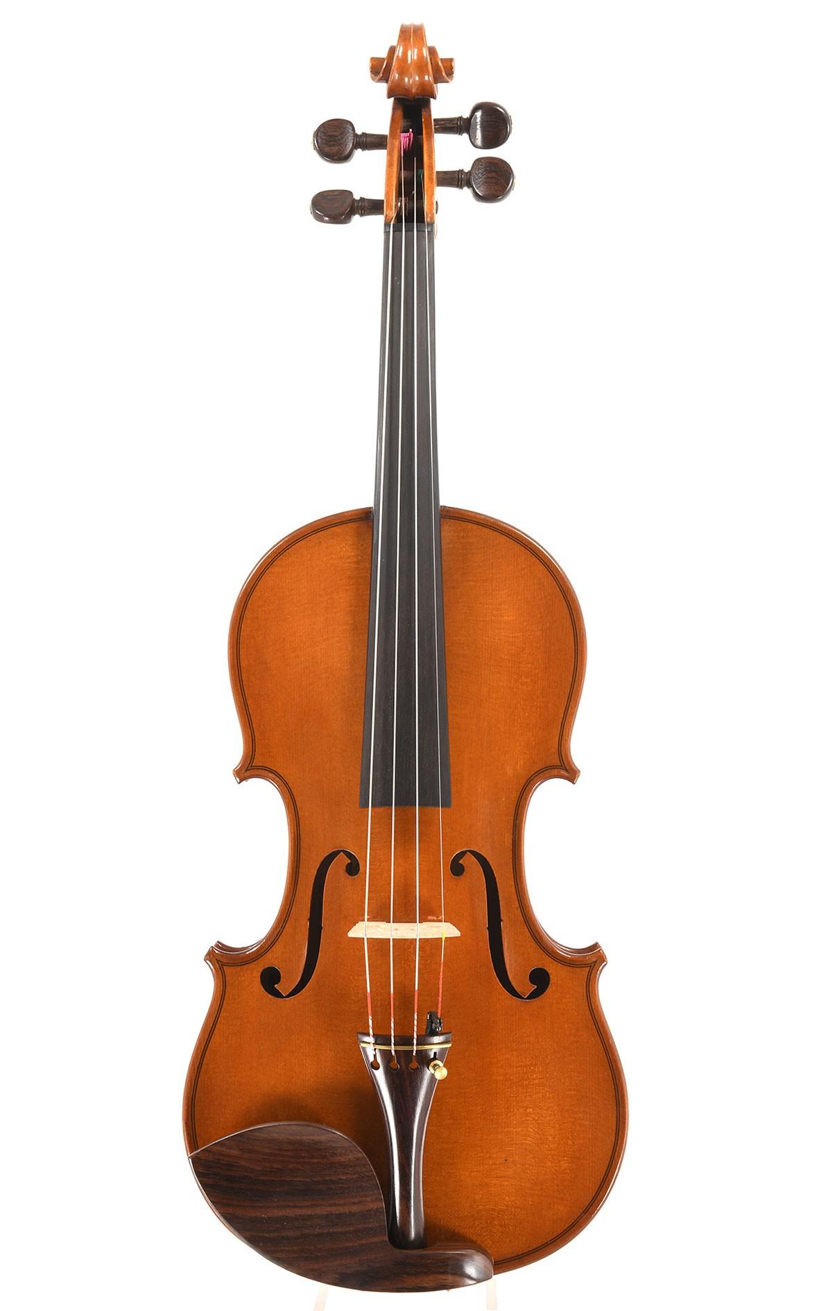 French violin by René Jacquemin, 1942