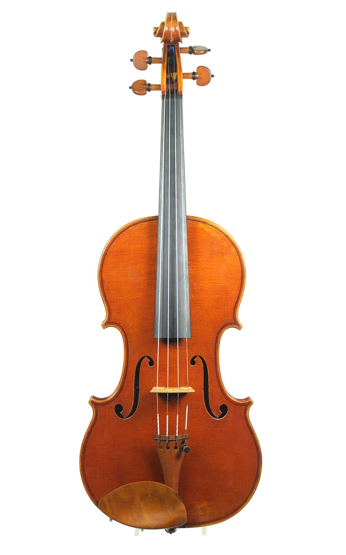 Zeitgenössische Geige von Christoph Götting, 2010