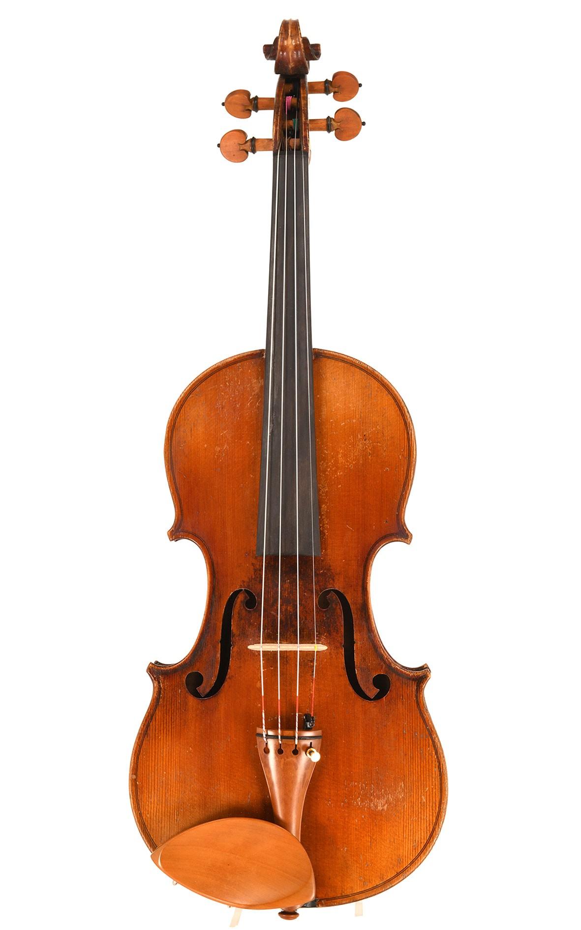 Ancien violon français, probablement atelier de Derazey vers 1880 - recommandation du violoniste !
