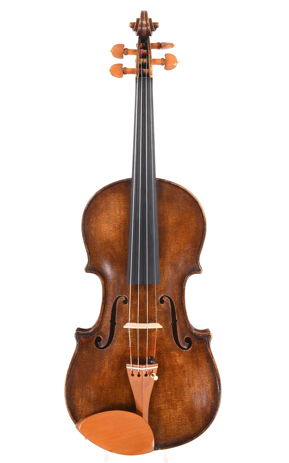 Old German violin built in 1968