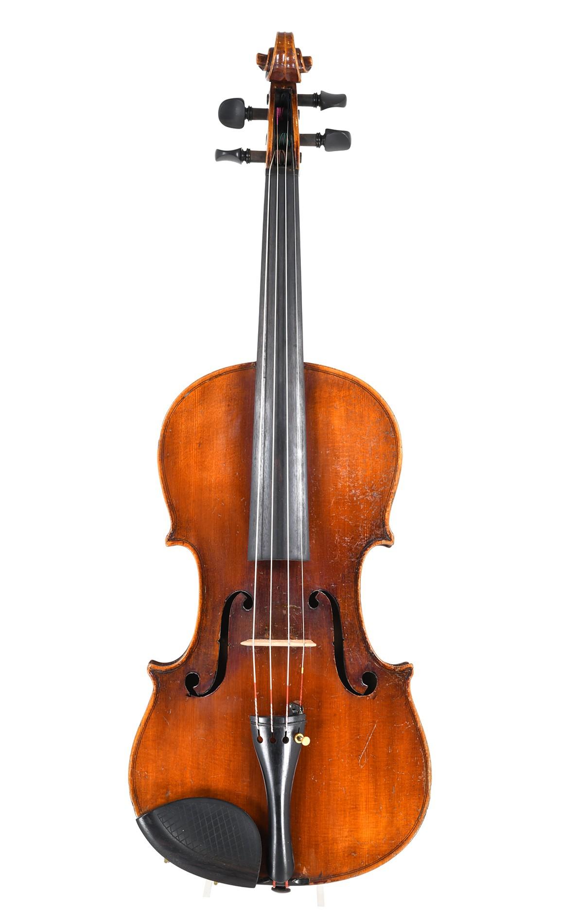 Markneukirchen violin by August Clemens Glier
