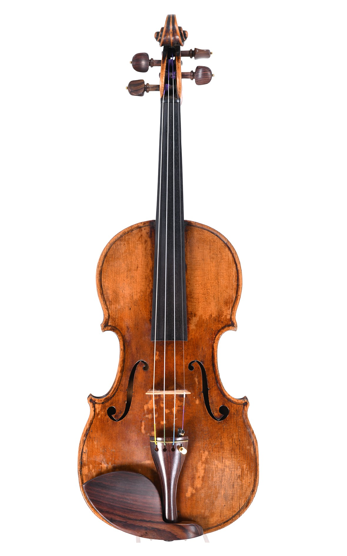 Master violin, probably from Prague, Johann Georg Hellmer replica