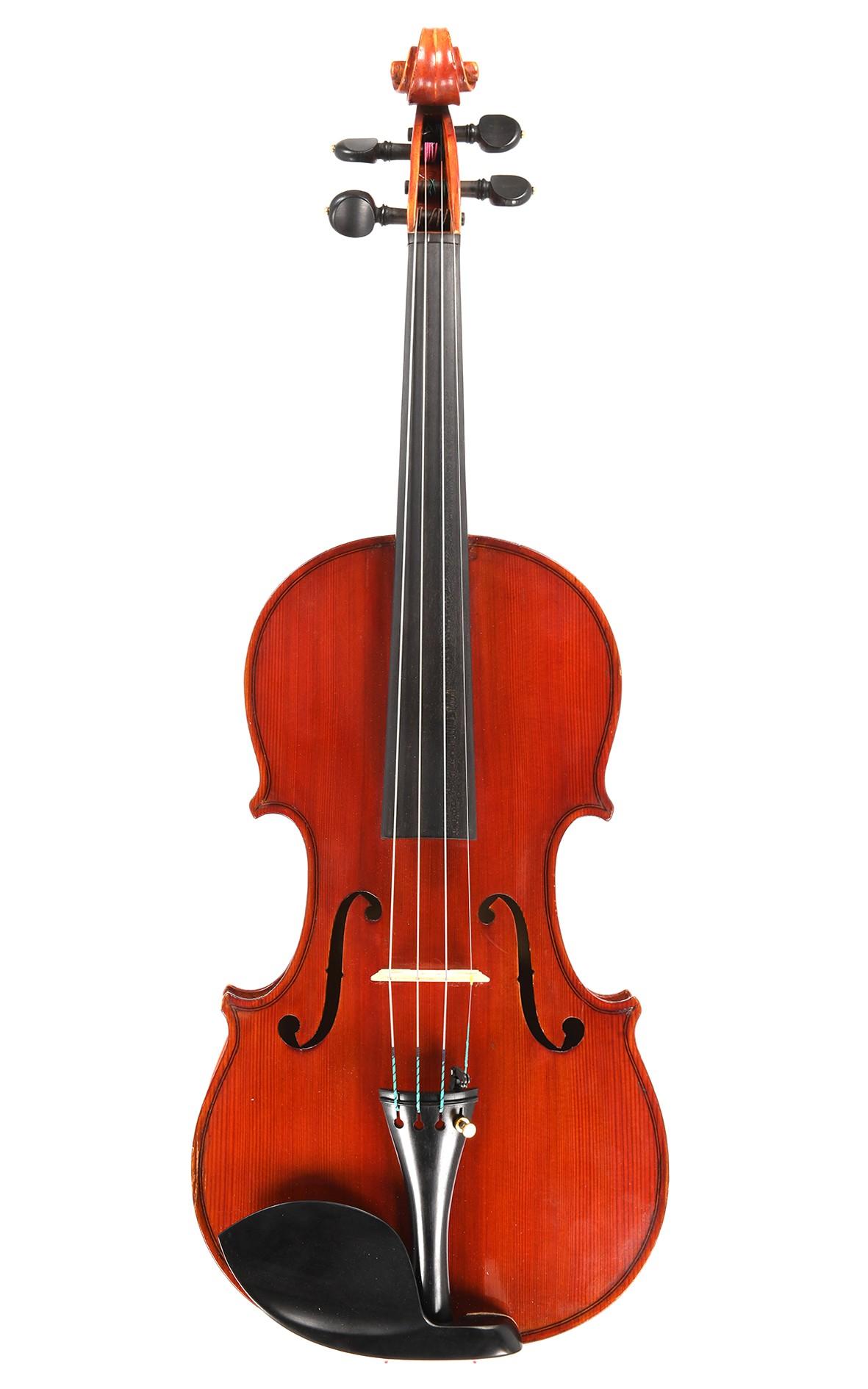 Interessante italienische Geige, Carletti Schule